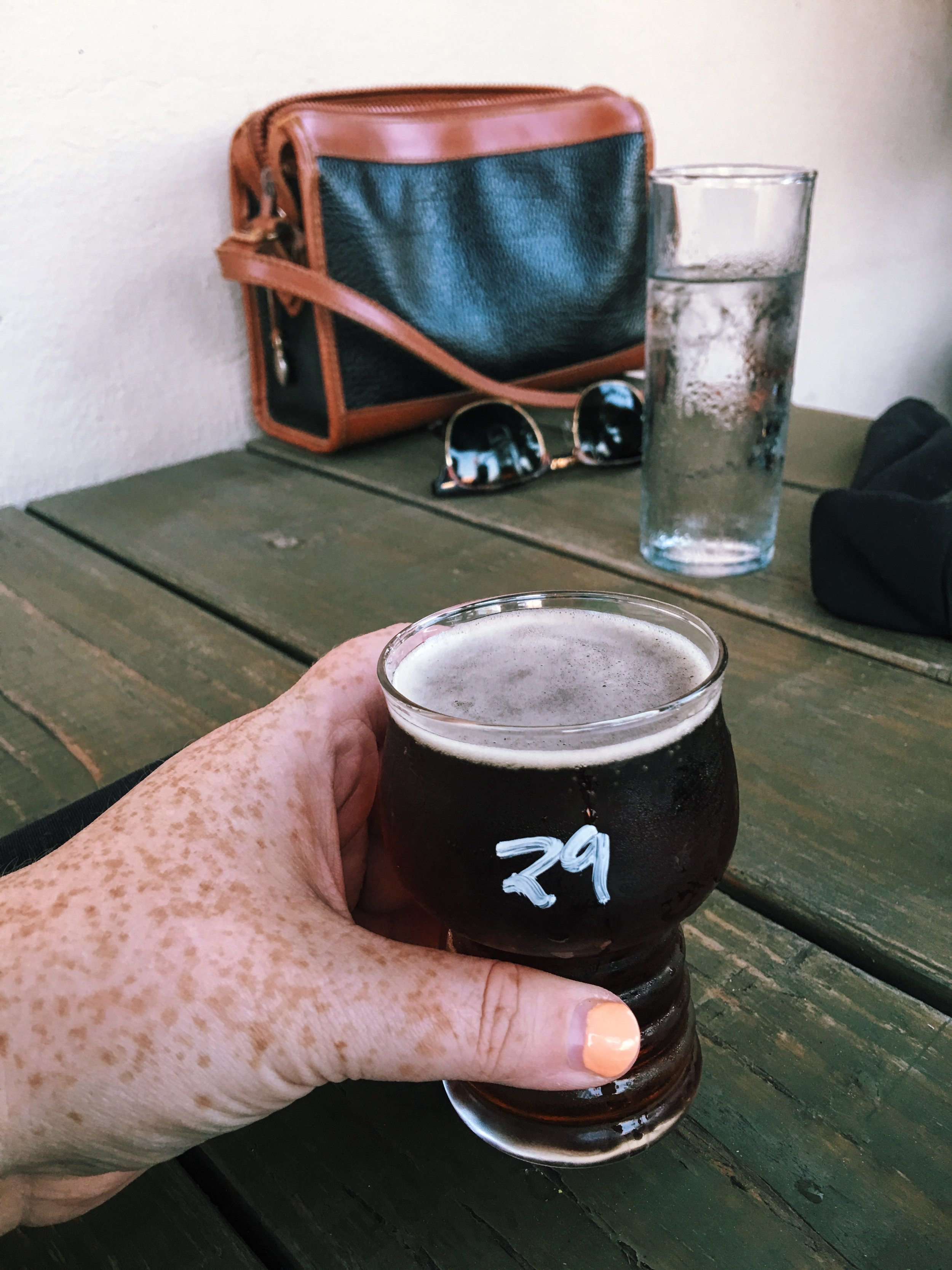 Beer at Hive Growler Bar in Downtown Augusta GA