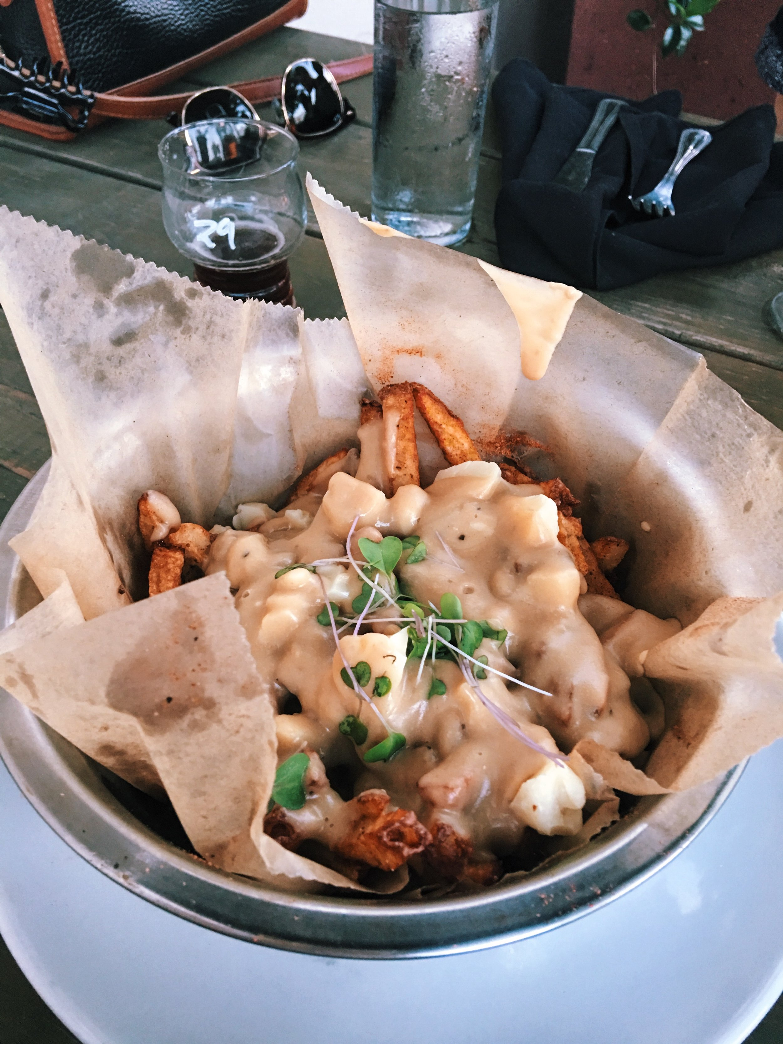 Poutine at Hive Growler Bar in Augusta