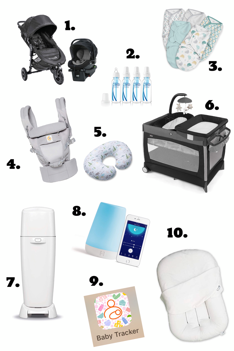 Thistle Bee Blog Top 10 Newborn Essentials
