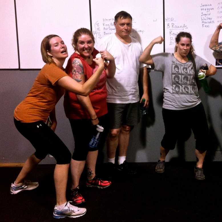 Graduation from beginner classes to regular CrossFit. (Fall 2013)