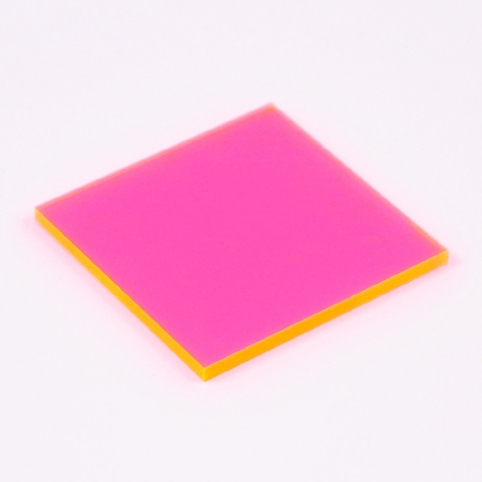 Hot Pink Acrylic (Translucent)