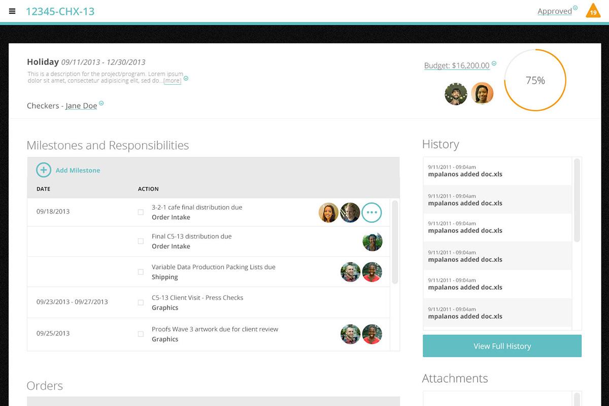 Research + Process Design + Webapp: Zen