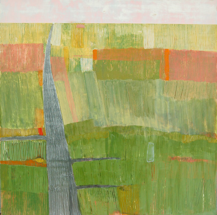 """M-72 II,  acrylic and graphite on panel 24""""x24"""", 2006 (sold)"""
