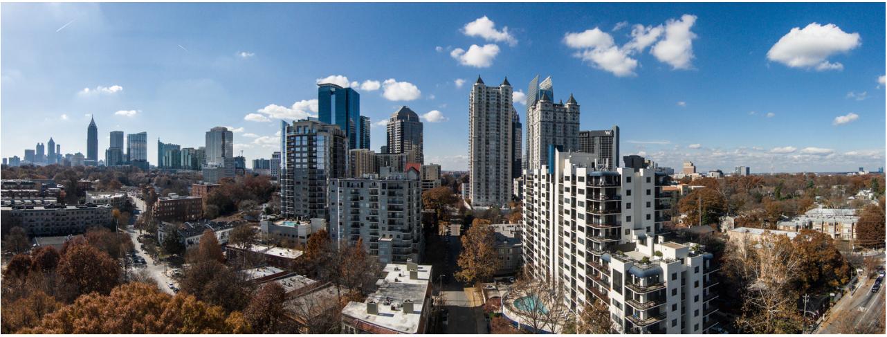 Atlanta City Skyline, photo copyright 2012-present, Shawn Millar