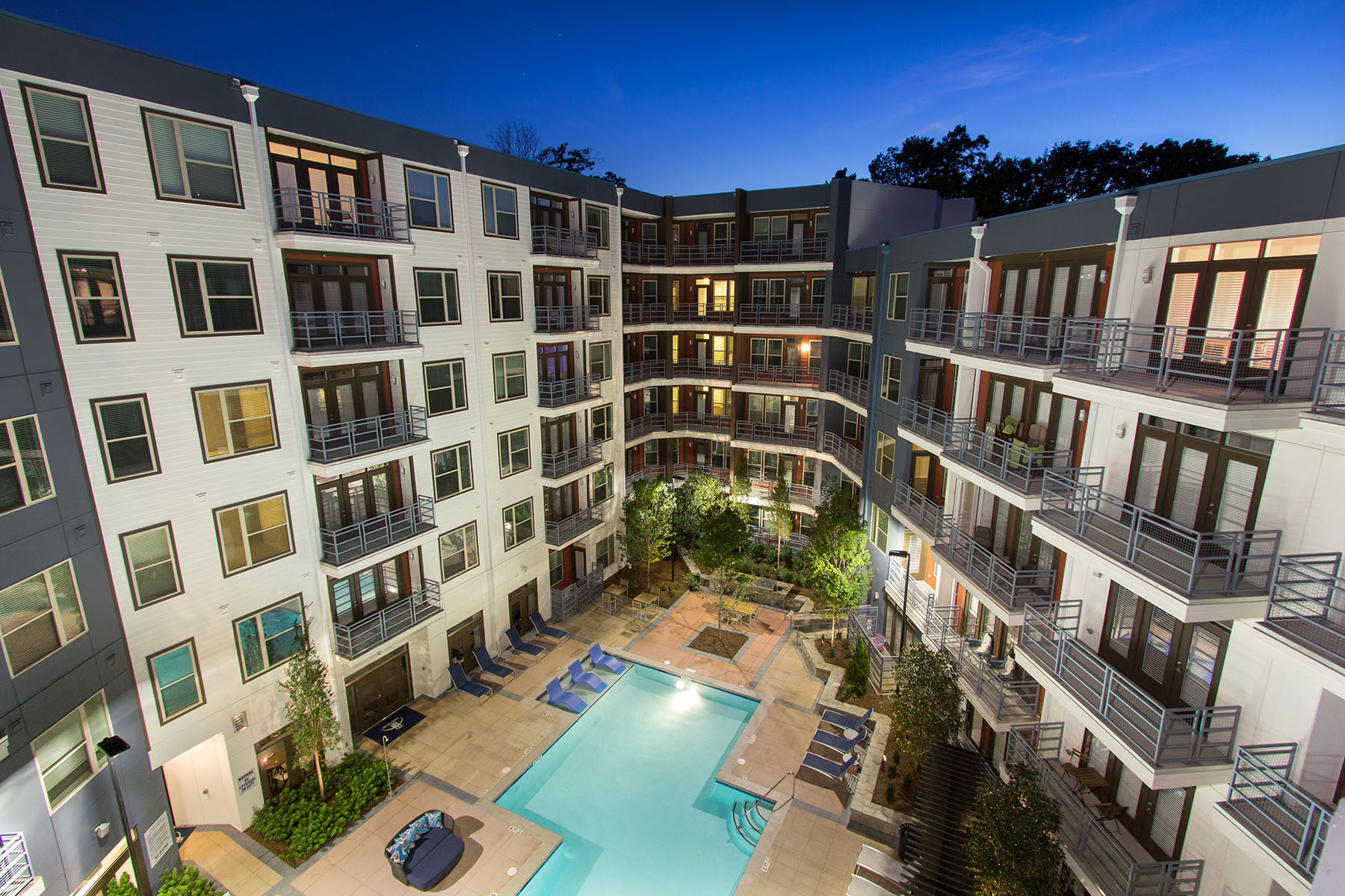 COMMERCIAL MULTIFAMILY TWILIGHT — Atlanta Real Estate