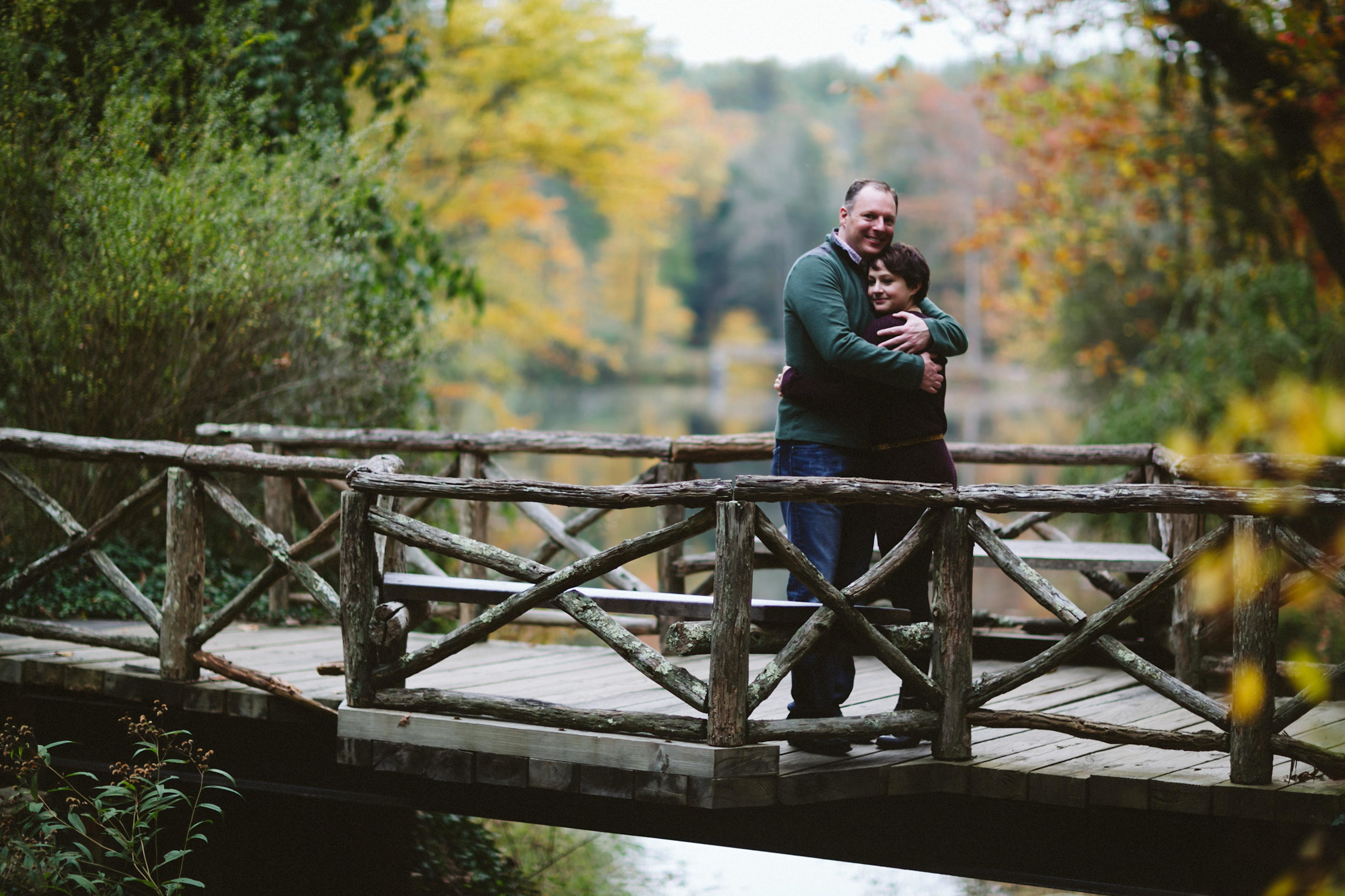 Nick of Blue Bend Photography took our engagement photos on the grounds of the Biltmore Estate in Asheville, NC.