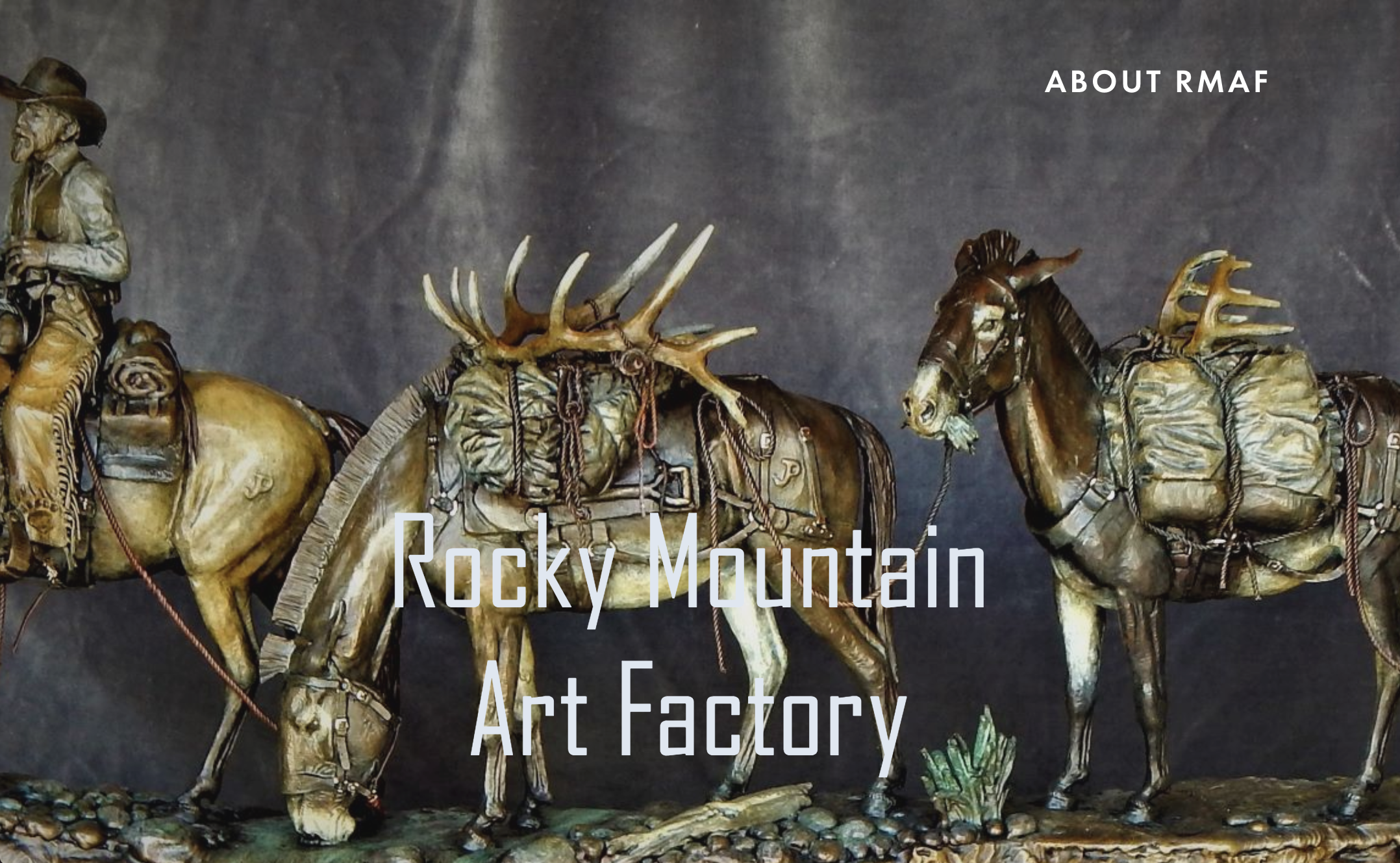 rockymountainartfactory.com - John Pettis and Scott Rand work to craft art that inspires. together, they honor the masters of fine art.
