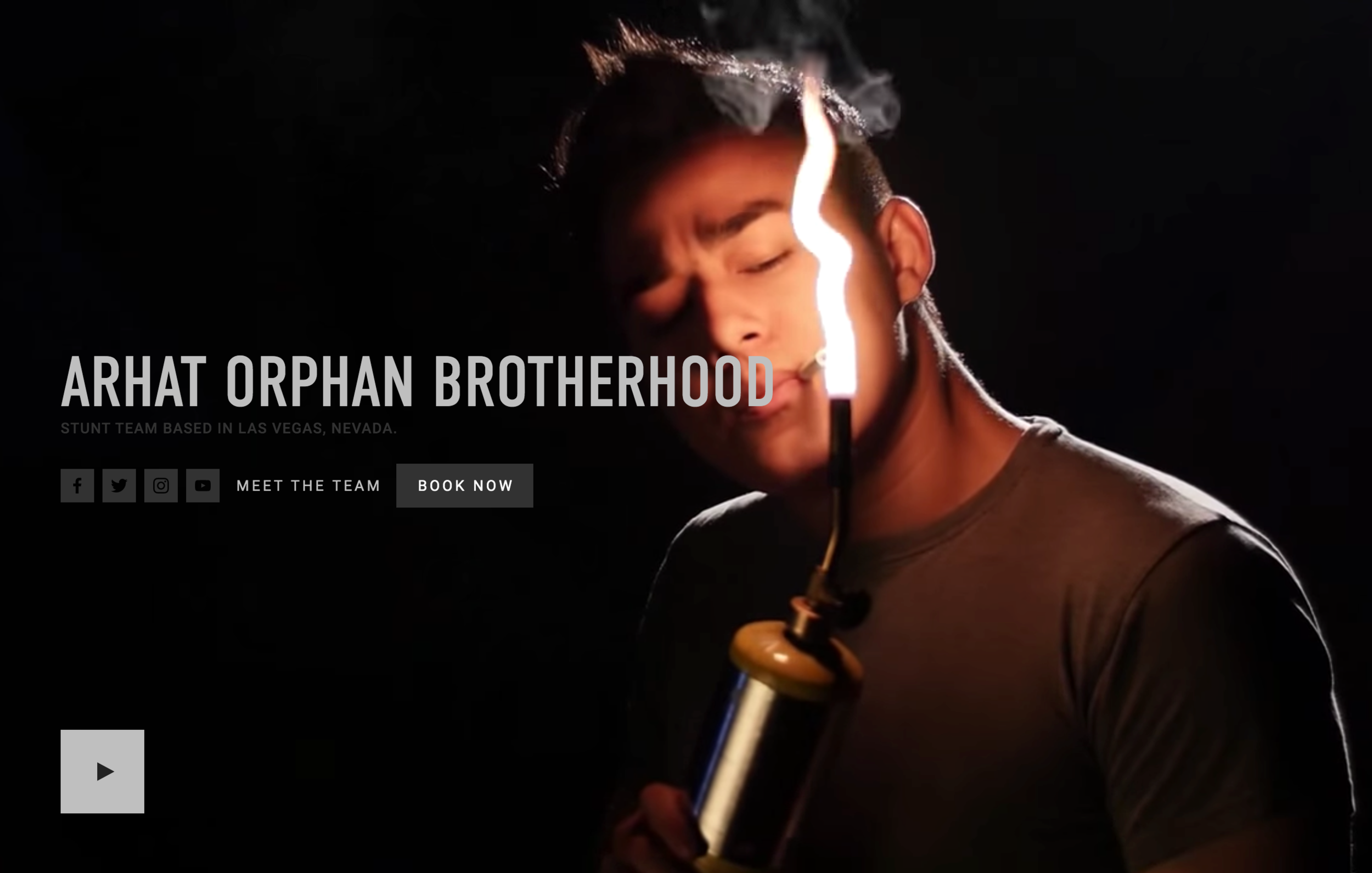 Arhat Orphan Brotherhood - a stunt team based in Las Vegas, NV, specializing in fight choreography, consultation, and the education of actors for fight scenes in any venue.