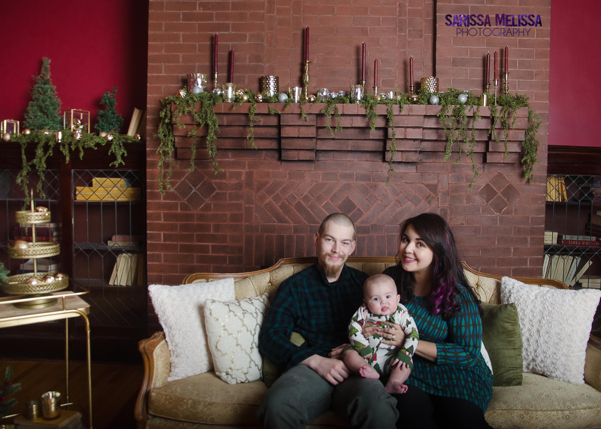 Photographer Melissa, Husband Ken, & little baby dude Henry