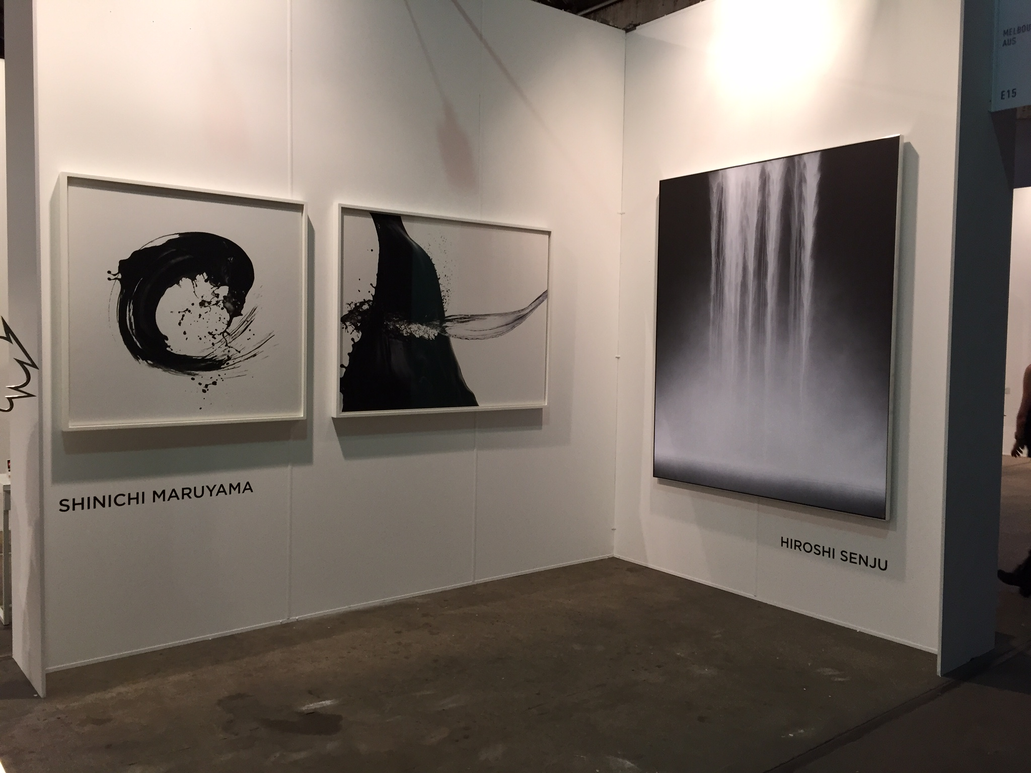 A few works from the Lesley Kehoe Gallery
