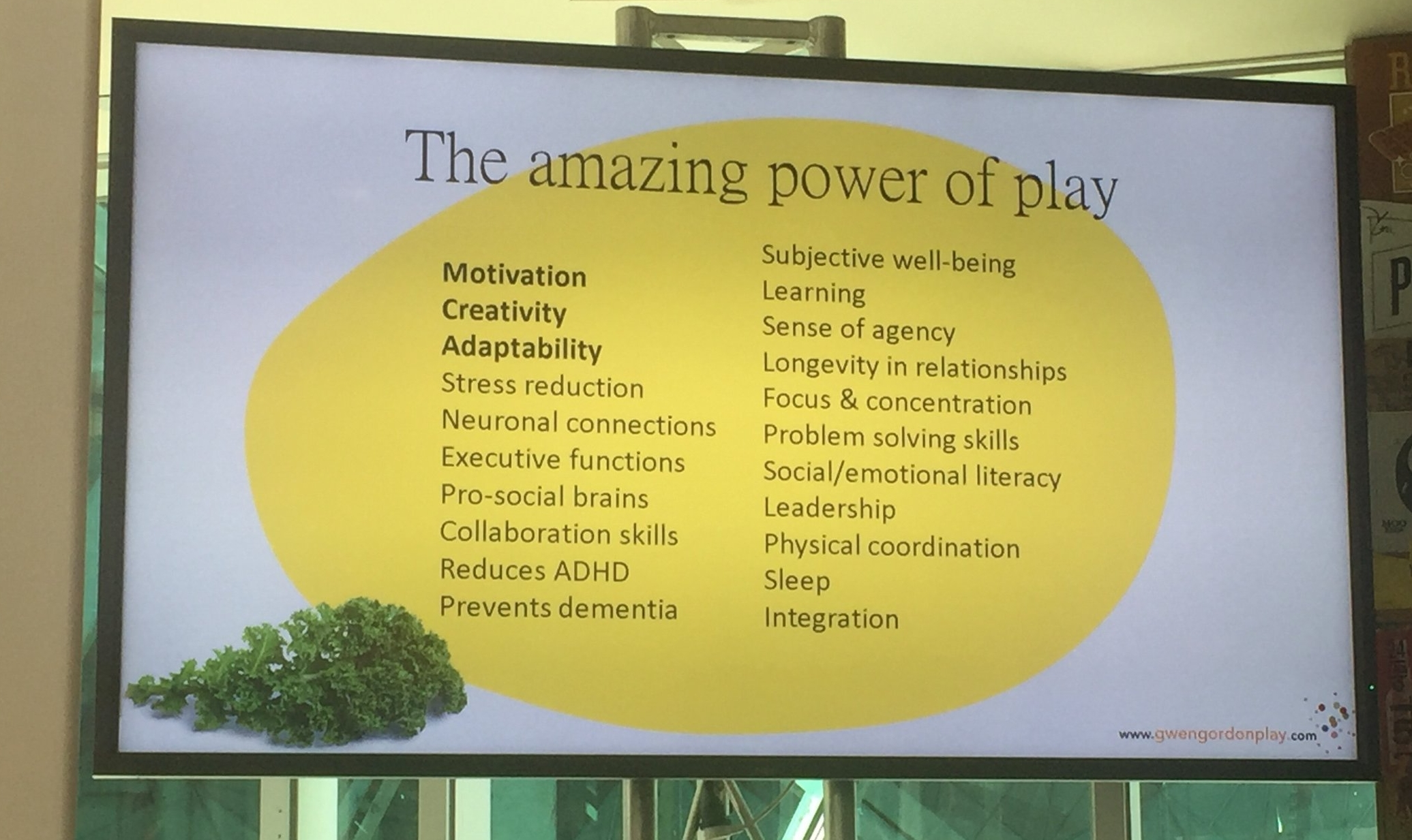 The Power of Play by Gwen Gordon