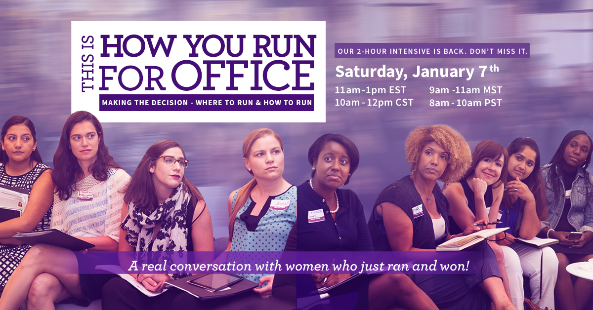 Sign up here: https://voterunlead.org/go-run/training-events/