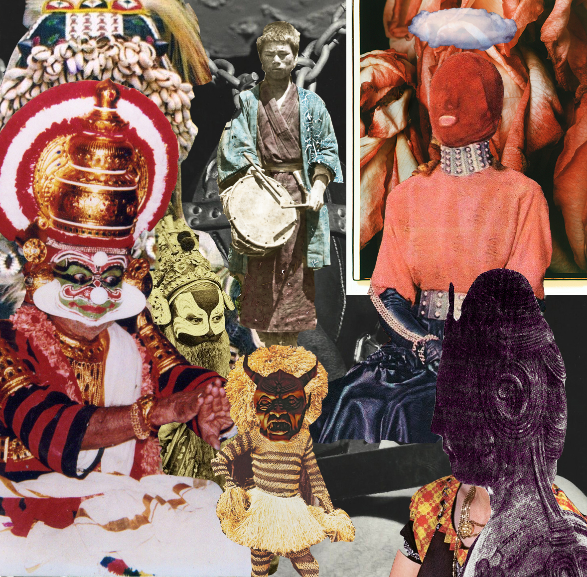 The Sacred Family [collage, 2015]