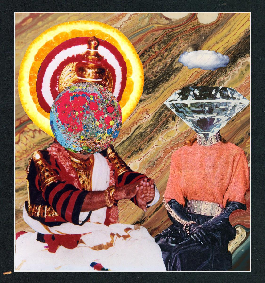 The Creators' Tarot [collage, 2015]