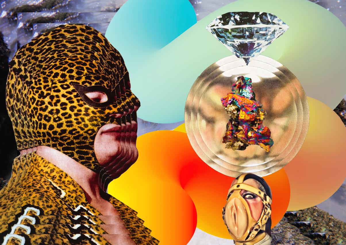 Modern Day Luxuries  [collage, 2015]