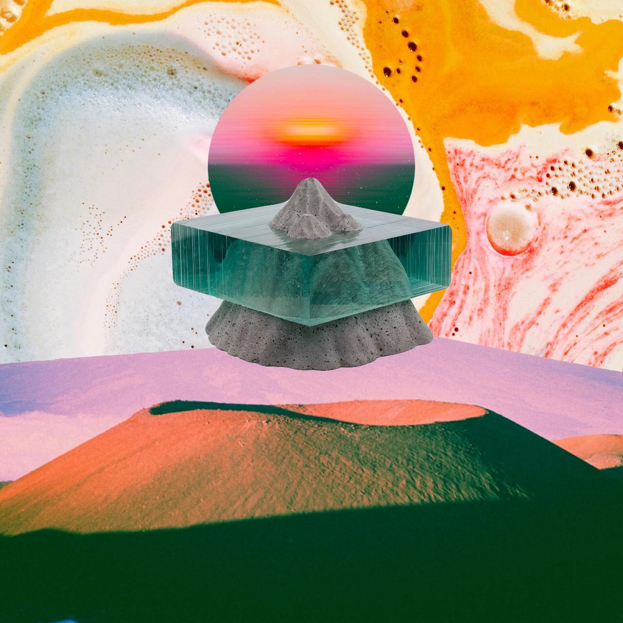 Mt. Dogen [collage, 2016]