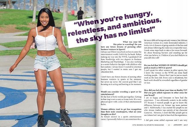 Part 2. -Women In Sports Cover Spread 2017