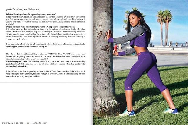 Part.3 -Women In Sports Cover Spread 2017