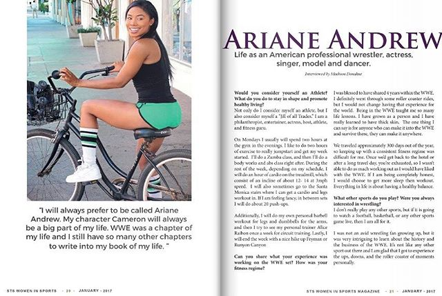 Part.1-Women In Sports Cover Spread 2017