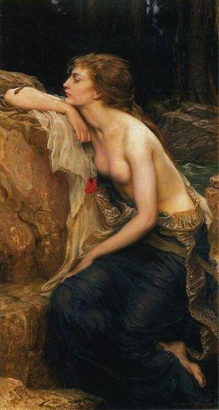 Lamia , Herbert James Draper (1909). Source:  Wikipedia