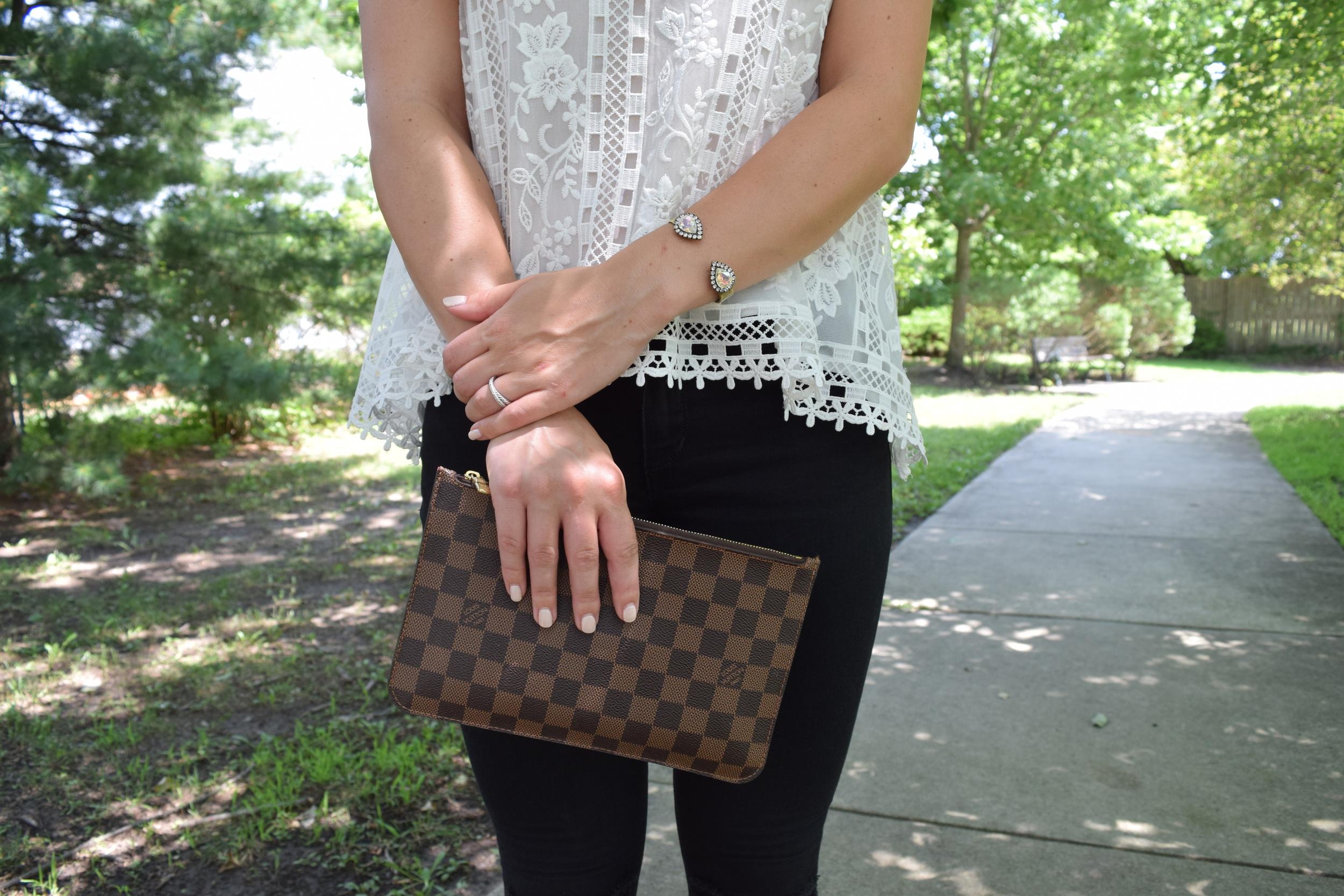 Loren Hope & Louis Vuitton details // pinebarrenbeauty.com