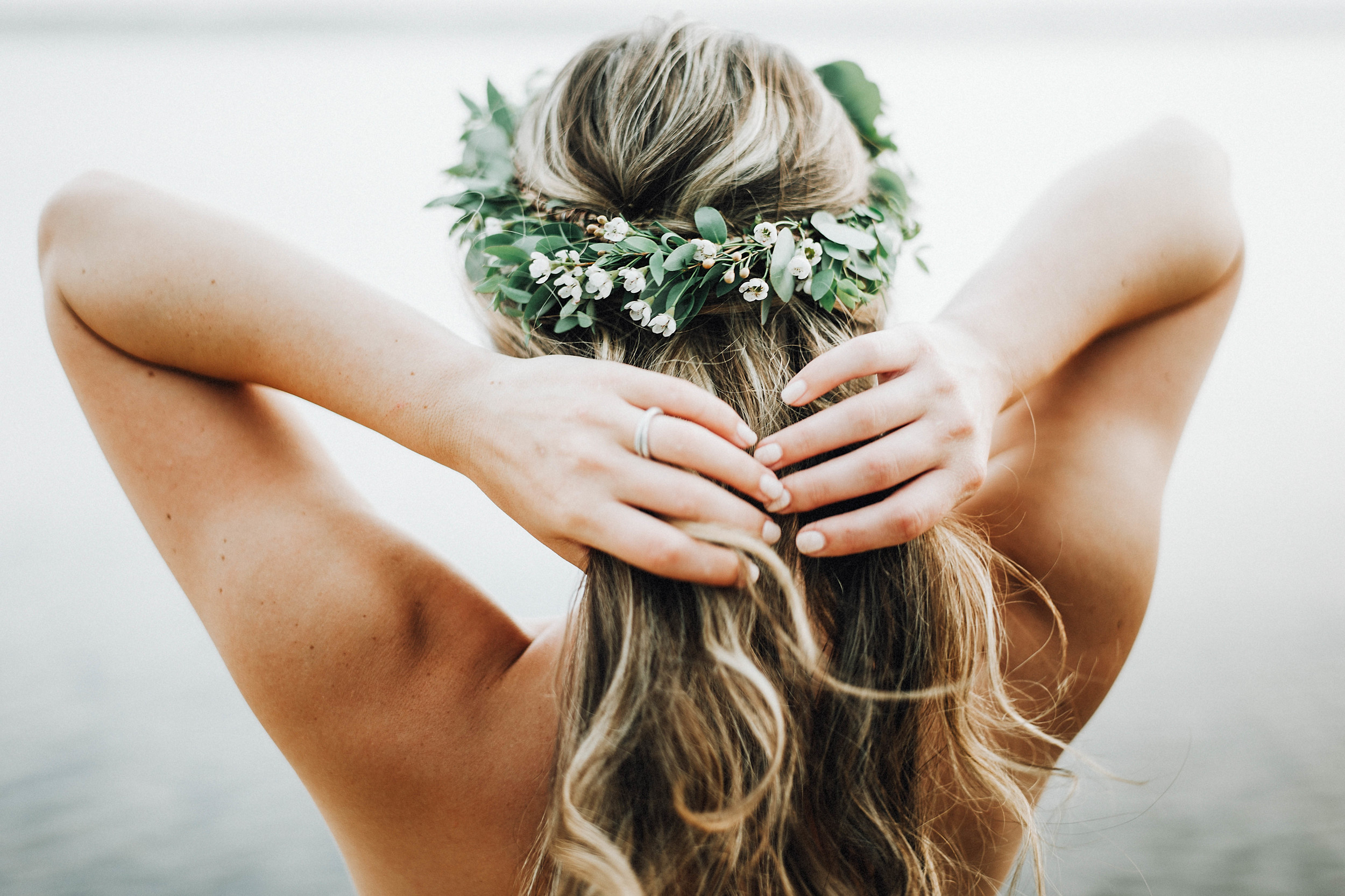 flower crown // pinebarrenbeauty.com