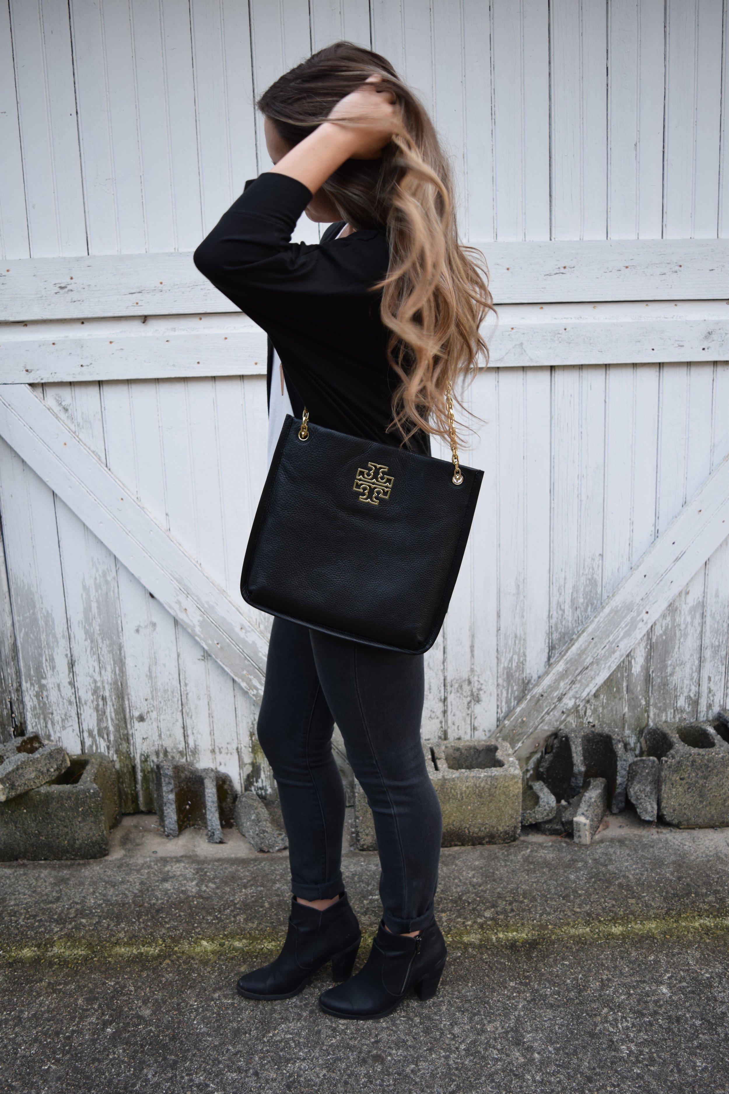 all black fall outfit // pinebarrenbeauty.com