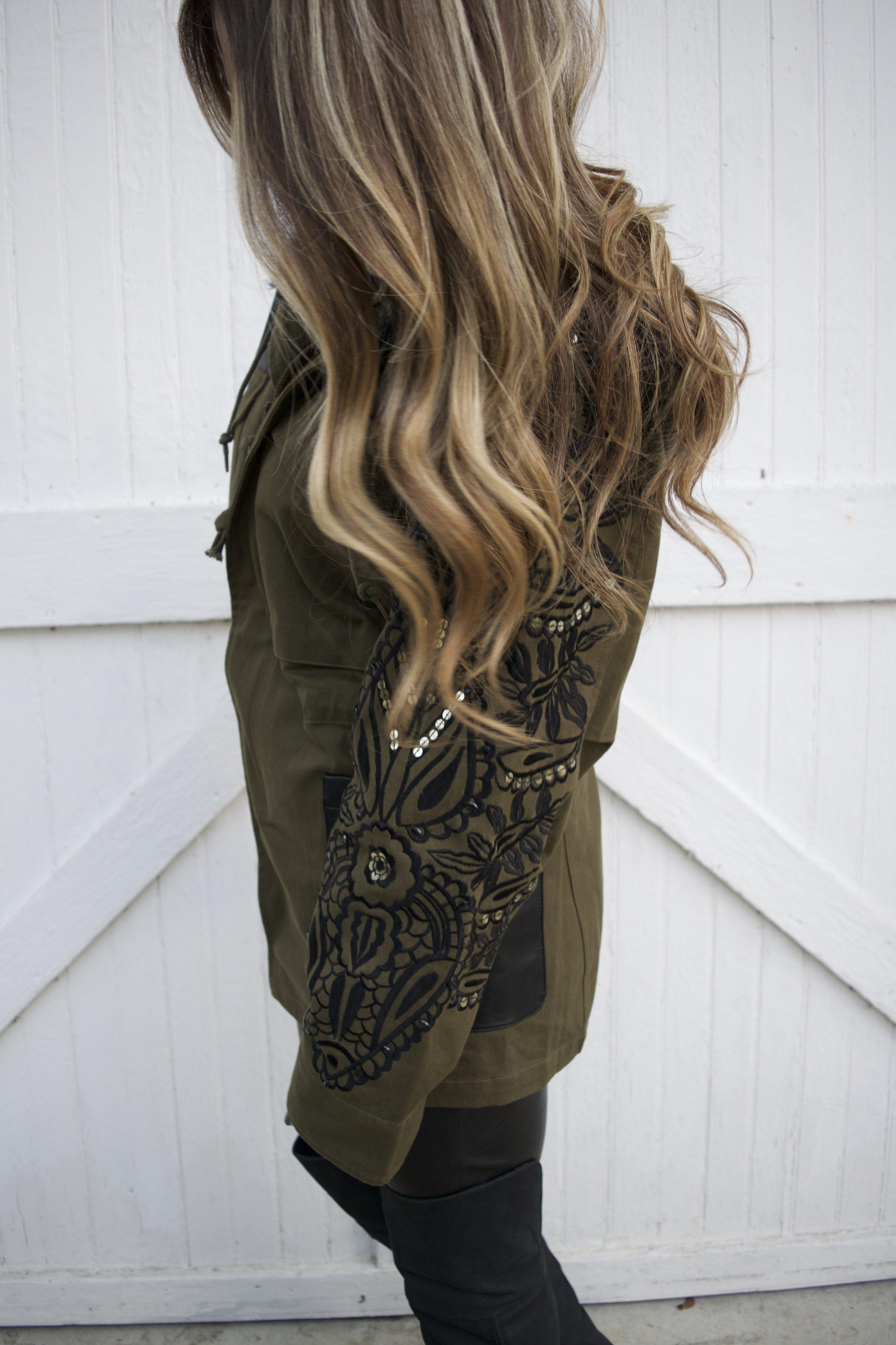fall utility jacket // pinebarrenbeauty.com