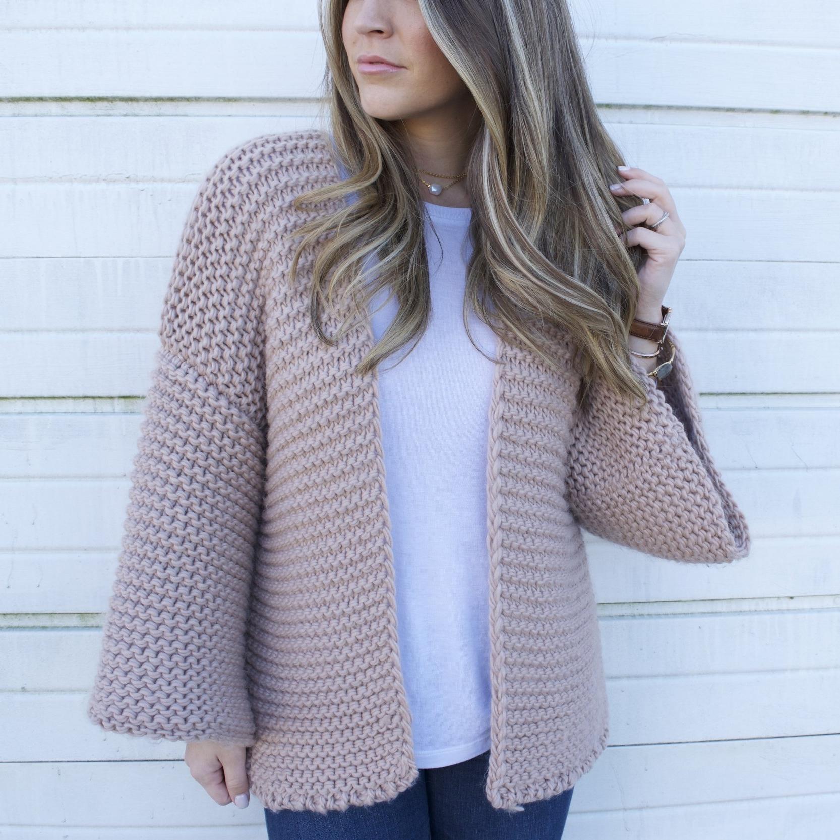 knit cardigan // pinebarrenbeauty.com