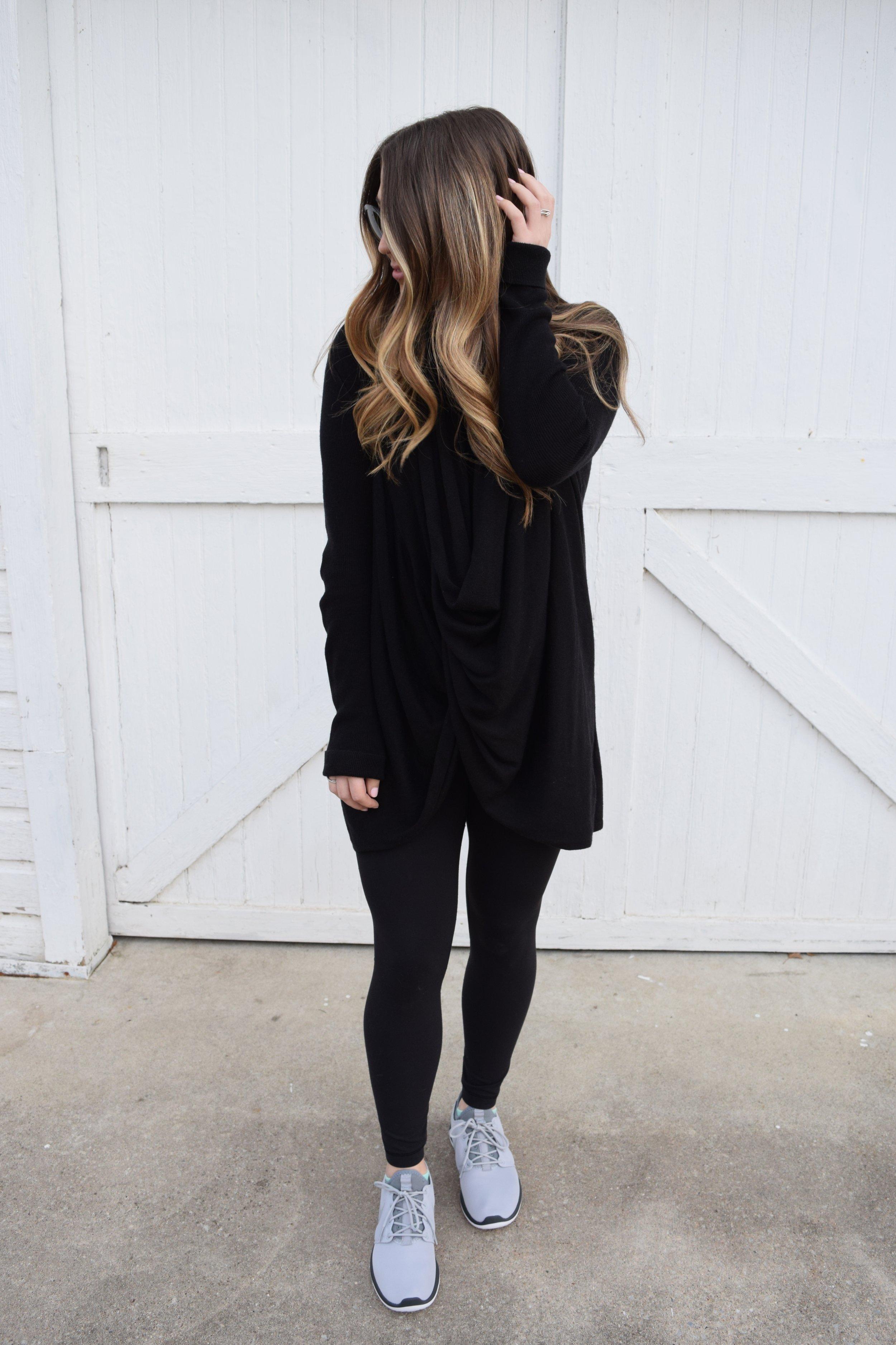 winter fashion, wrap cardigan