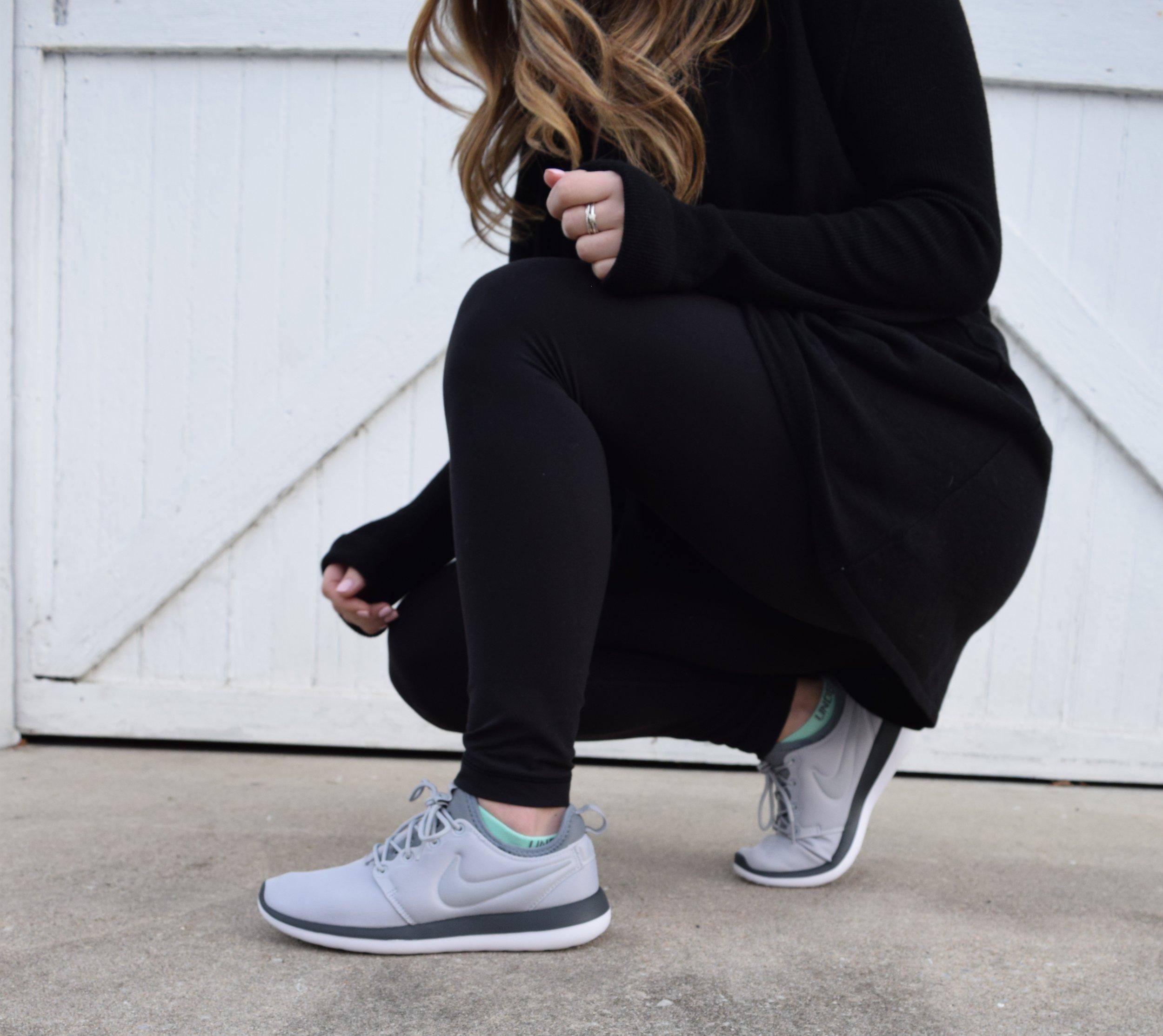 winter fashion, athleisure, nike
