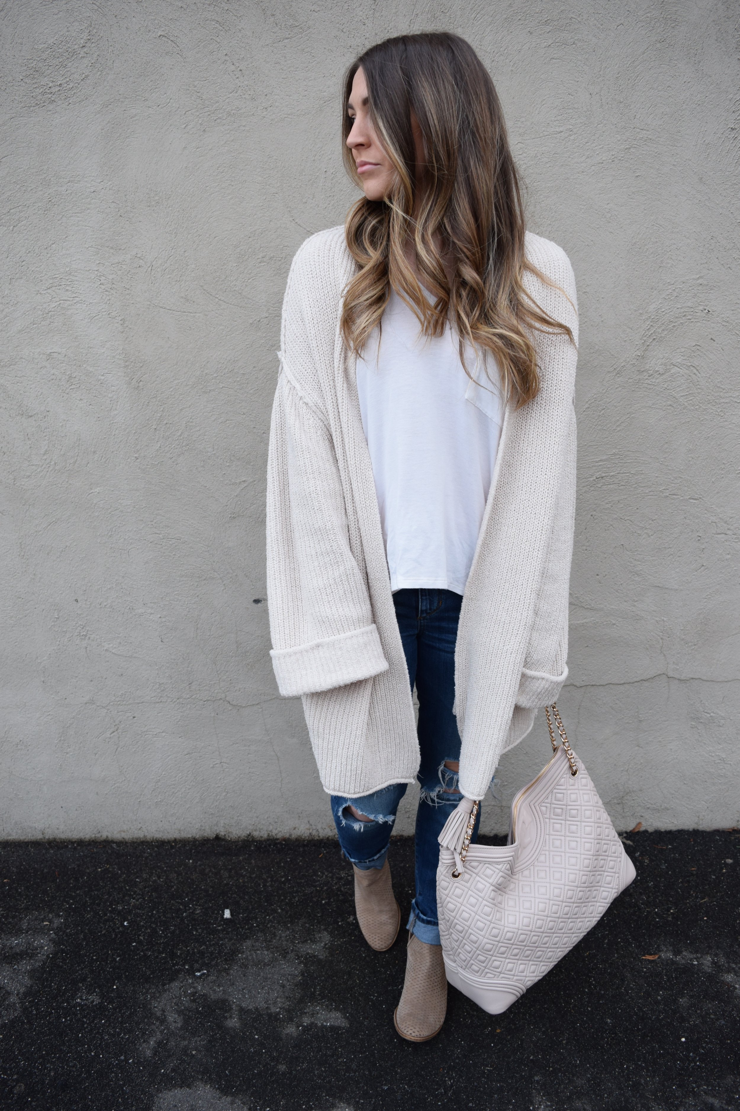 winter fashion, outfit idea, cozy layers