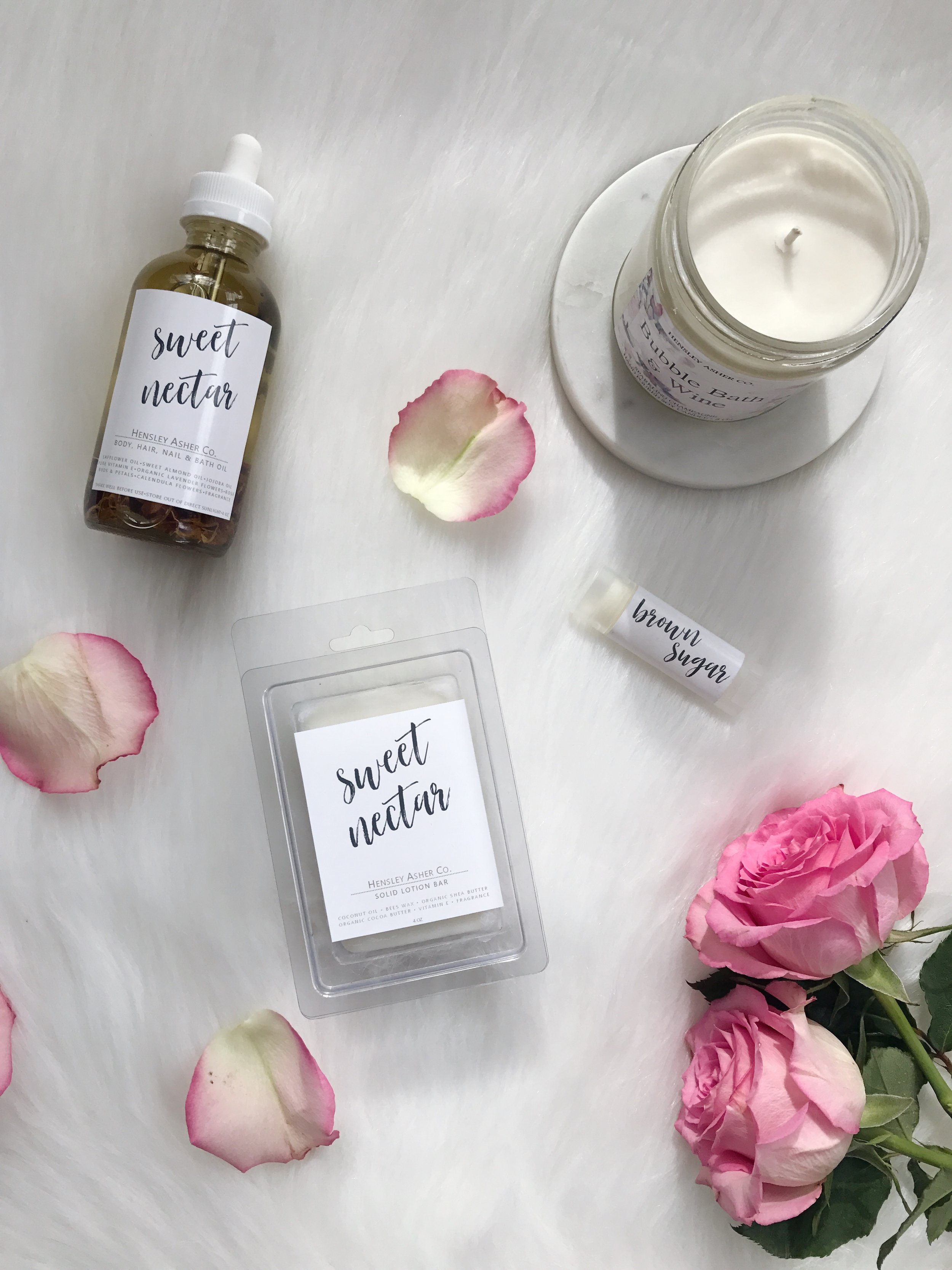 natural beauty products / hensley asher co.