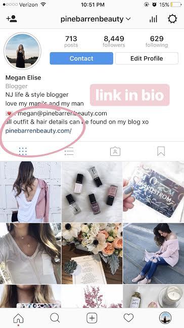how to shop pine barren beauty's instagram