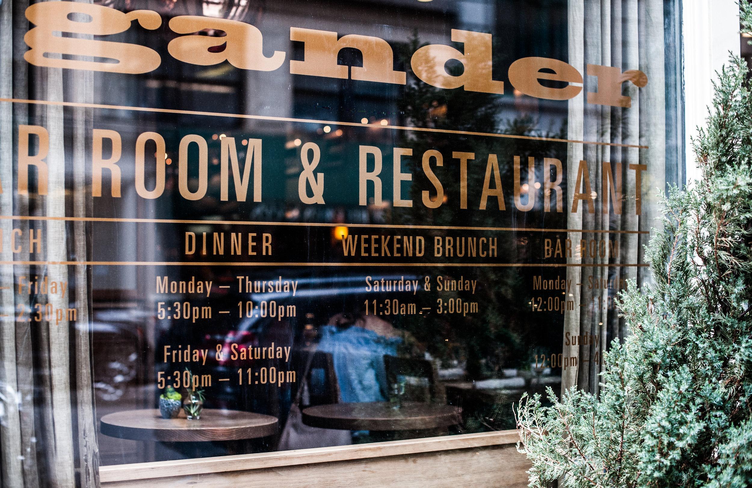 blogger brunch at the gander nyc / pinebarrenbeauty.com