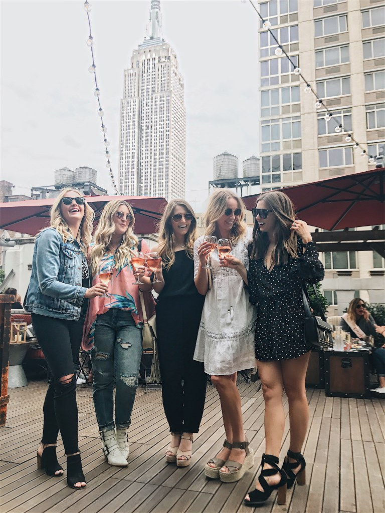 blogger babes / nyc bloggers / refinery rooftop