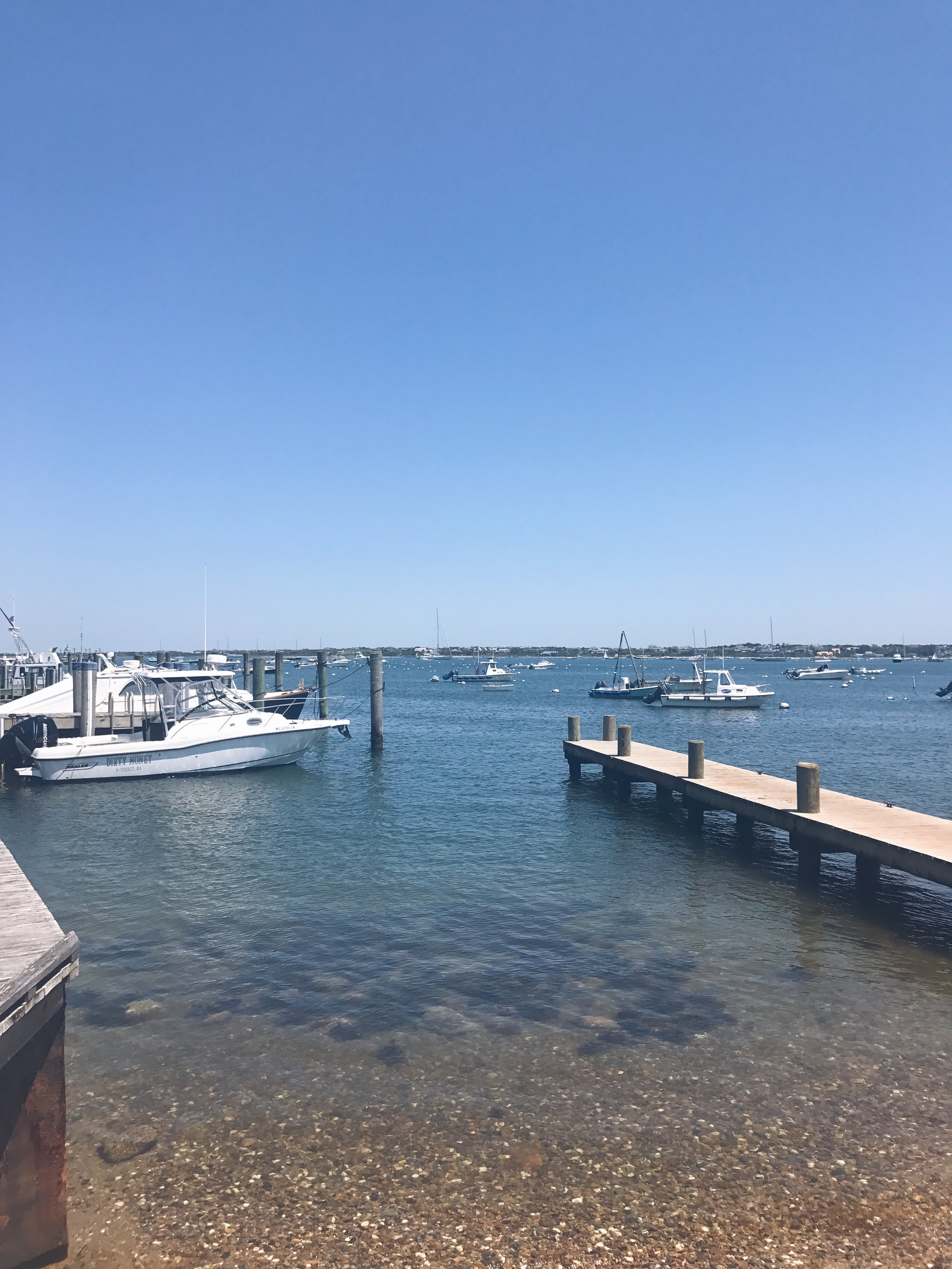 on the water / nantucket travel diary