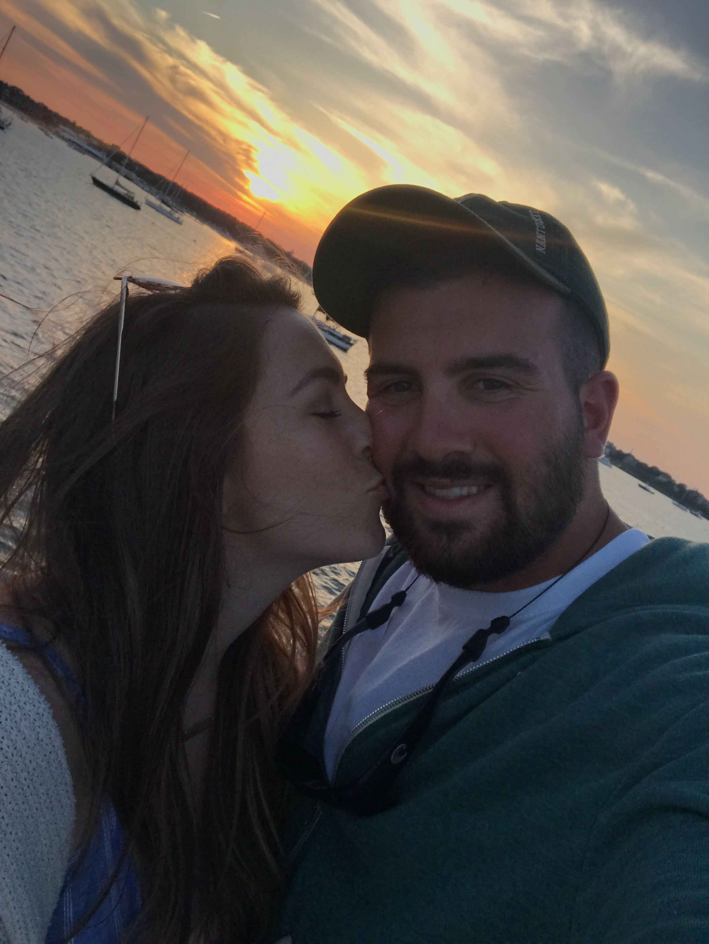 couple goals / sunset / nantucket travel diary