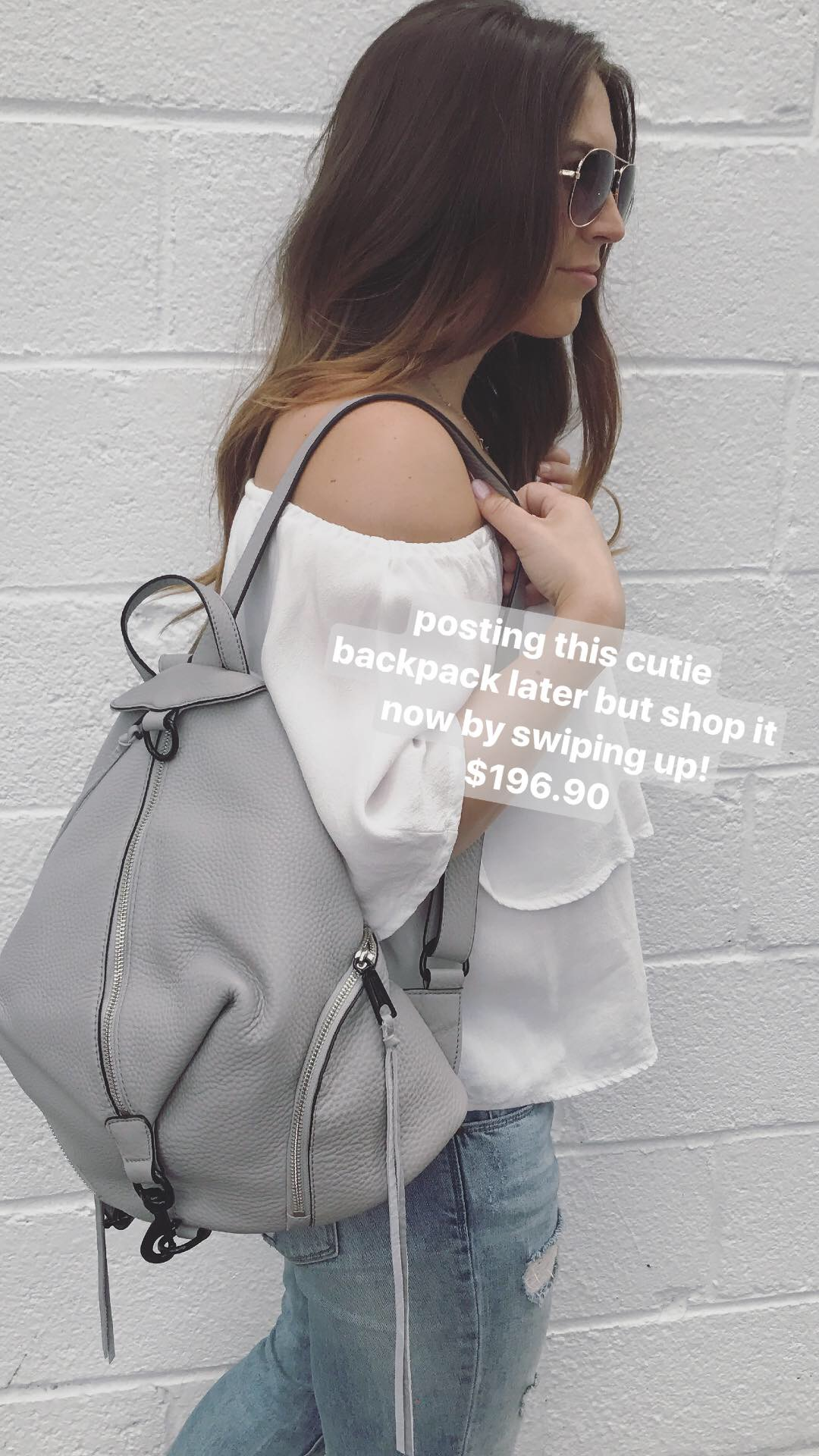 Nordstrom anniversary sale, Rebecca minkoff leather backpack