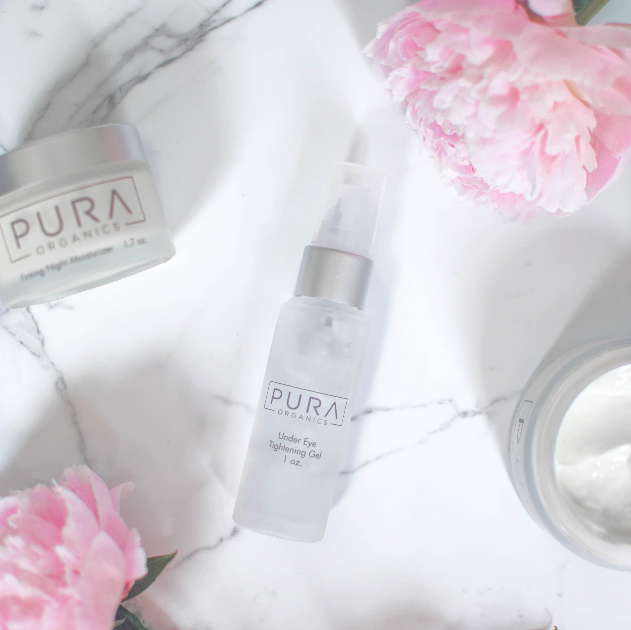 skincare with pura organics