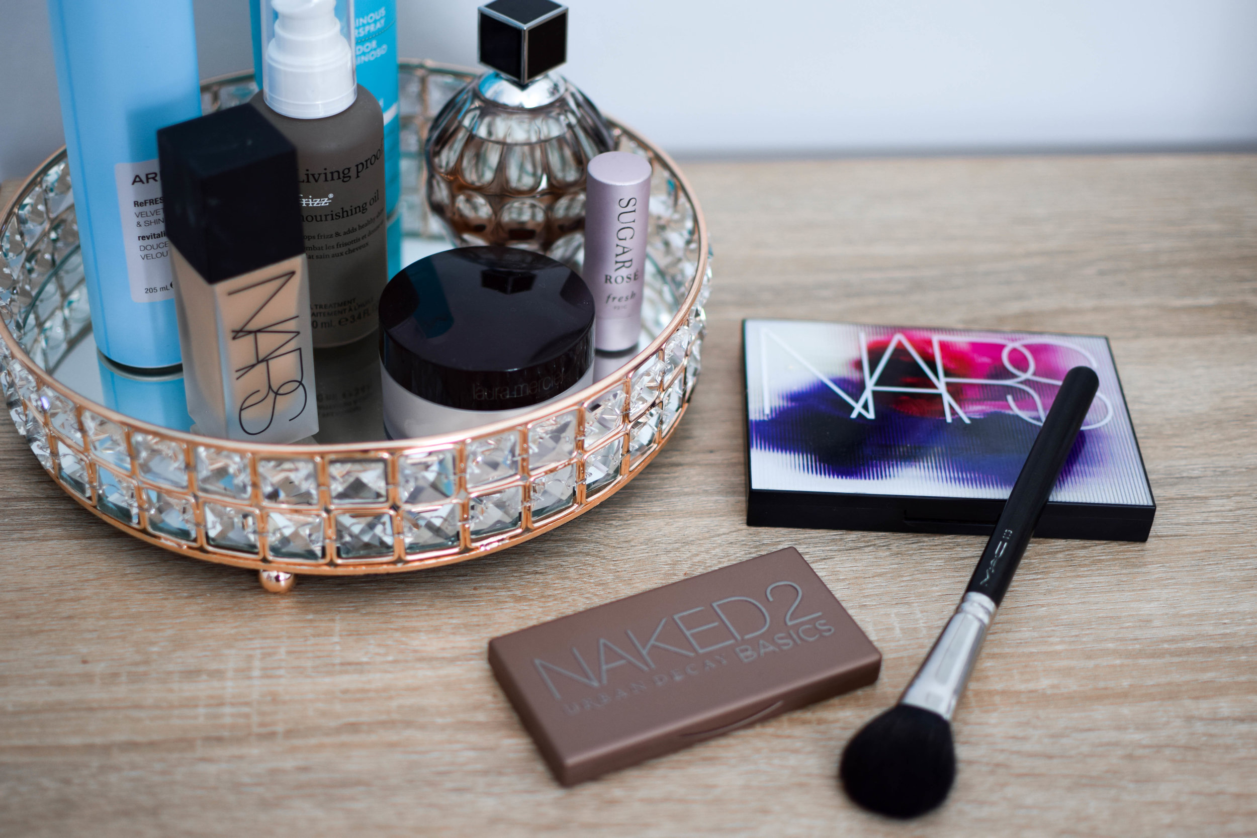 holy grail beauty products / beauty product flat lay