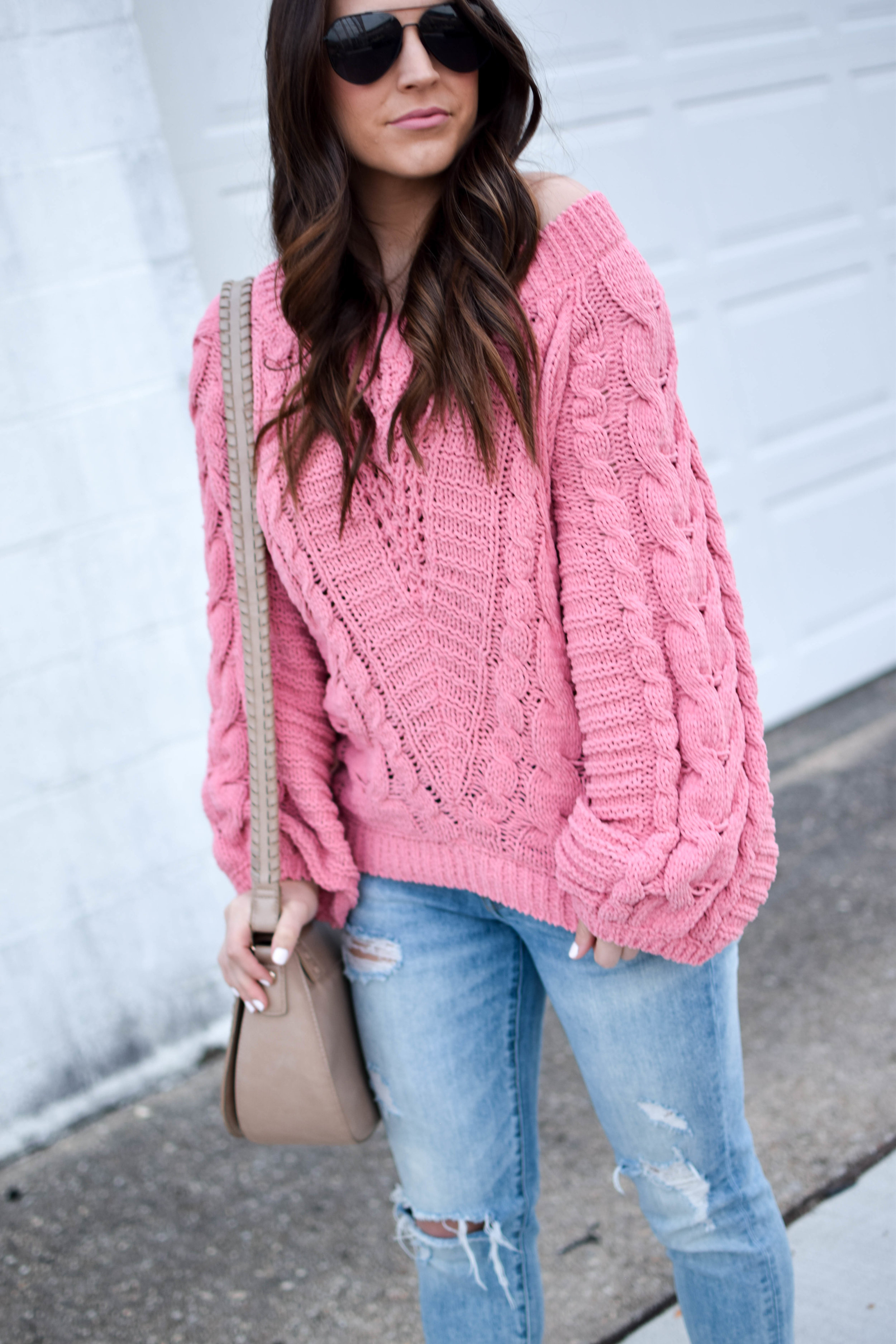 Cozy Chenille Sweater | Pine Barren Beauty | fall outfit idea, fall outfit inspiration, fall feels
