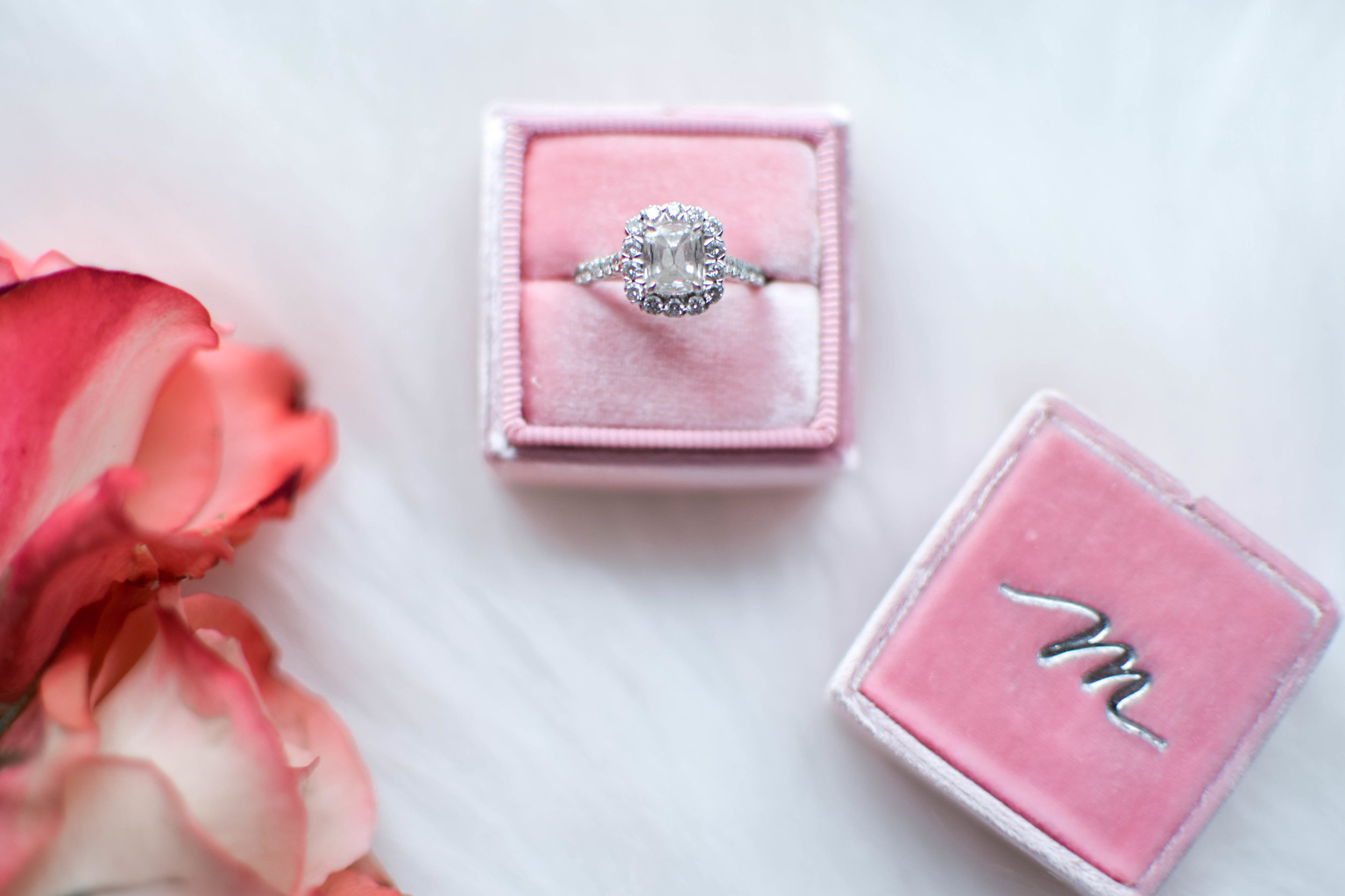 Why You Should Insure Your Engagement Ring | Pine Barren Beauty | Jeweler's Mutual Insurance Group | The Mrs. Box | Henri Daussi Engagement Ring