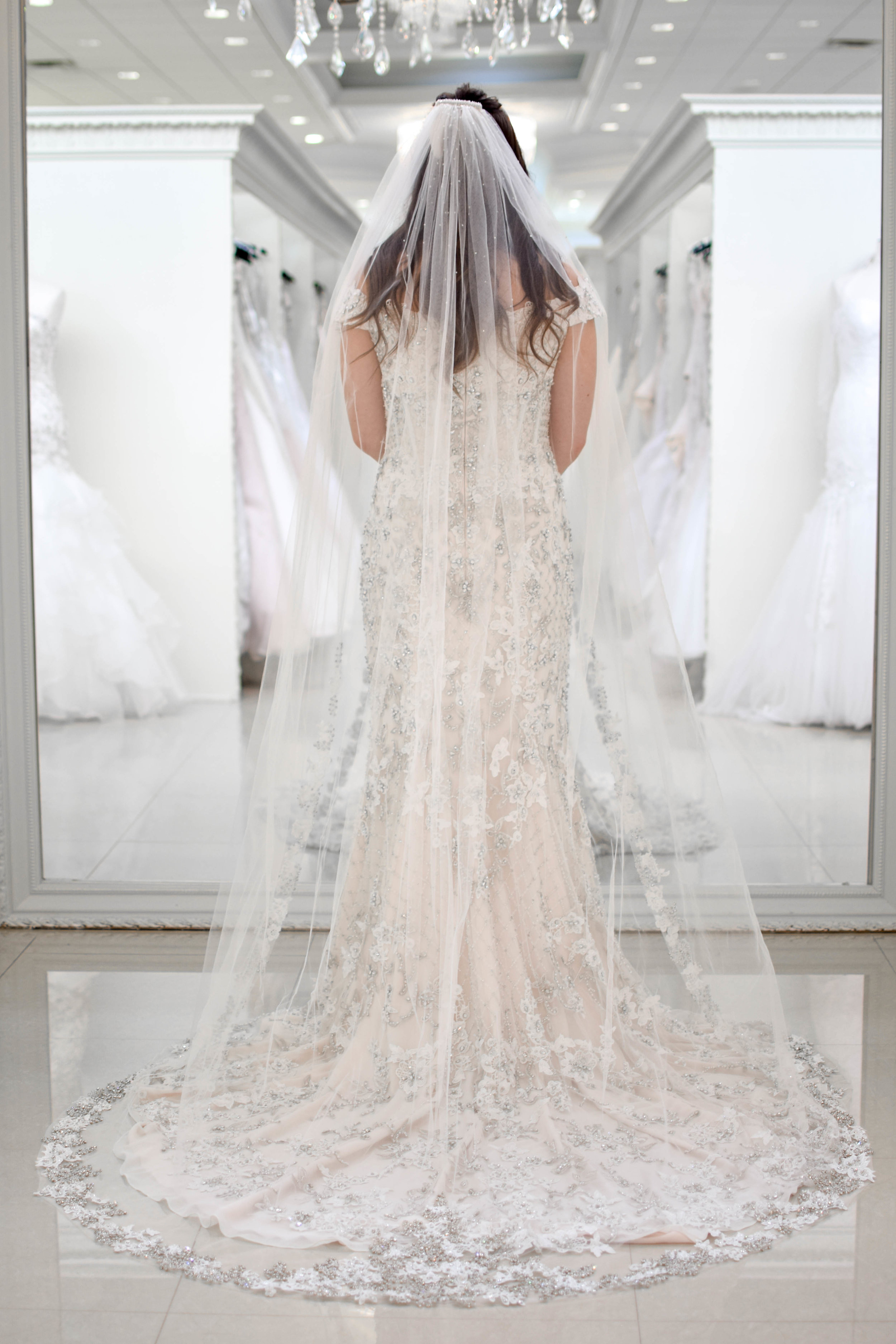 Three Tips for Finding the Perfect Wedding Dress | Pine Barren Beauty | wedding inspiration, wedding dress idea, beaded wedding dress, glam wedding dress, Stephen Yearick wedding dress, castle couture