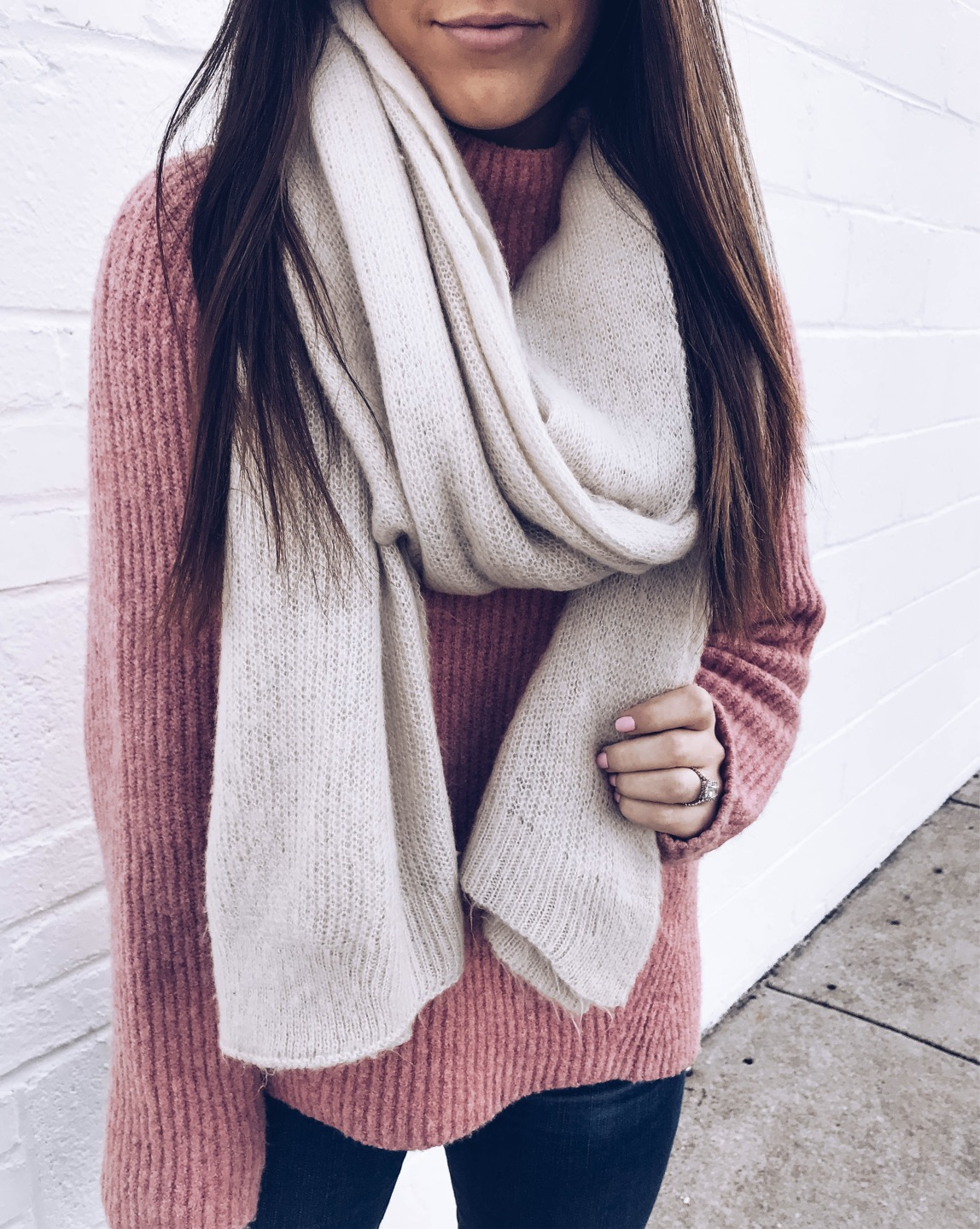 Instagram Round Up | Pine Barren Beauty | outfit of the day, winter outfit idea, winter fashion, free people scarf, madewell sweater, cozy vibes, cozy outfit idea