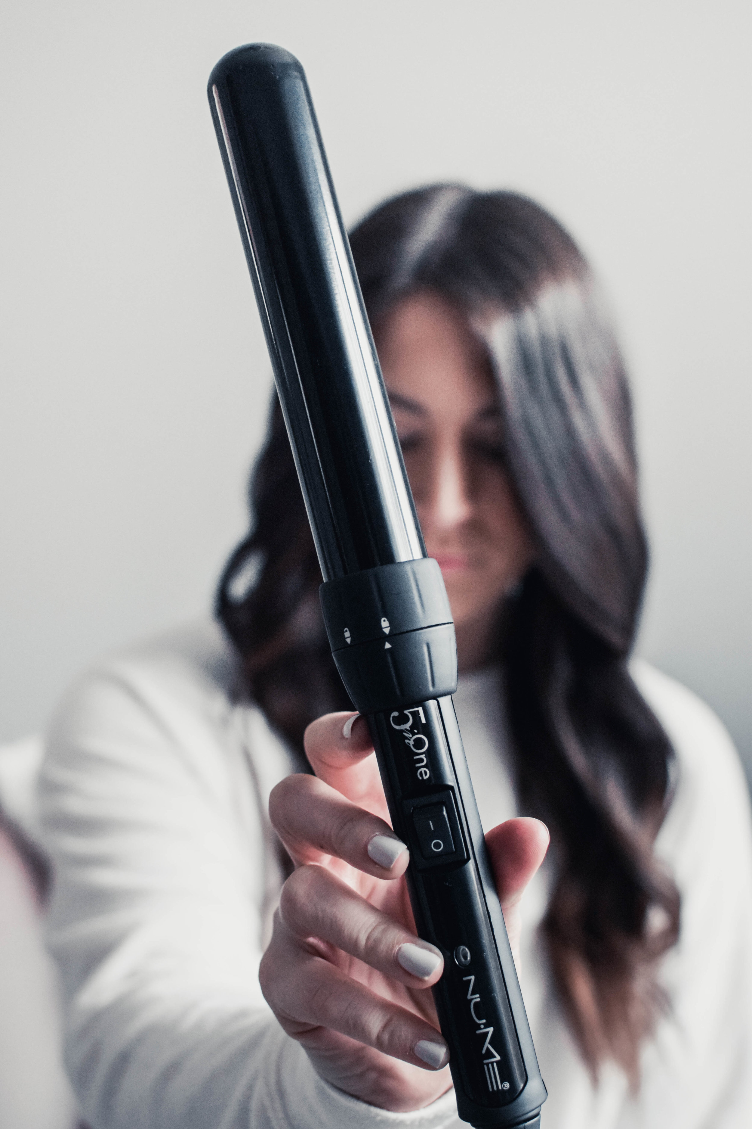 How to Curl Your Hair with a Wand | Pine Barren Beauty | nume 5 in one curling wand, 1.25 inch curling wand, how to use a curling wand