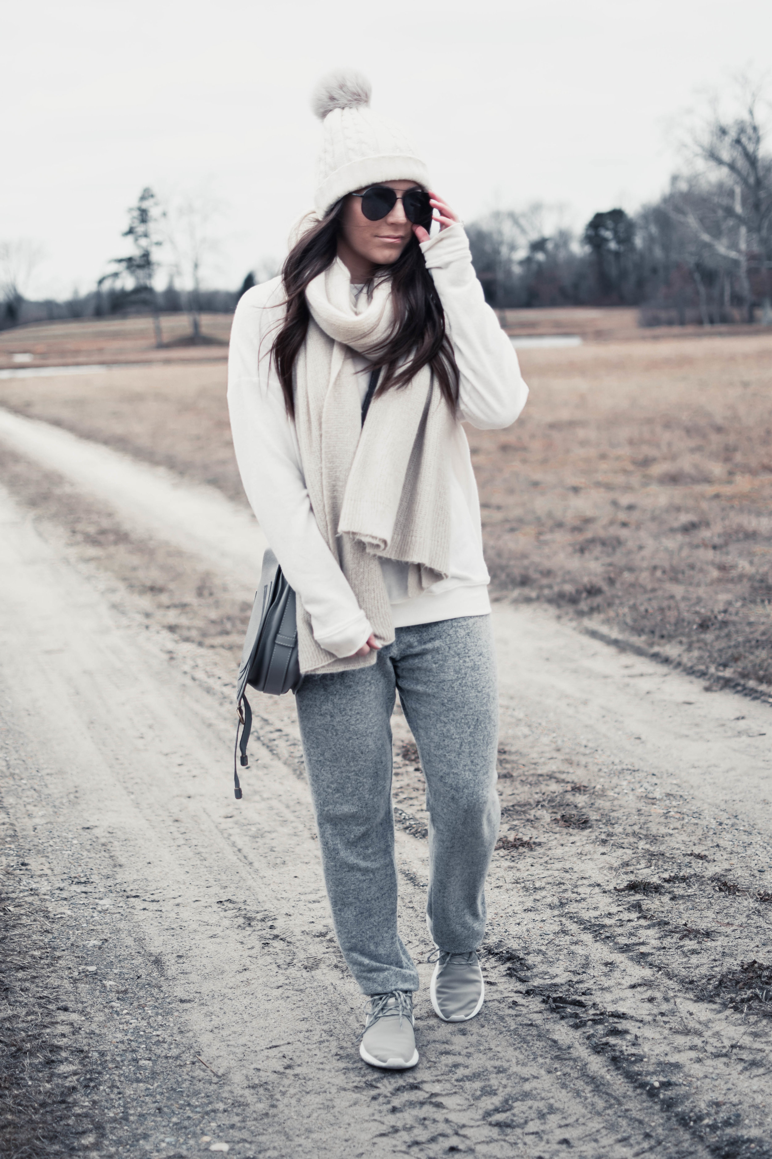 How to Style Joggers | Pine Barren Beauty | comfy outfit idea, cozy outfit idea, winter outfit idea, winter fashion, athleisure outfit
