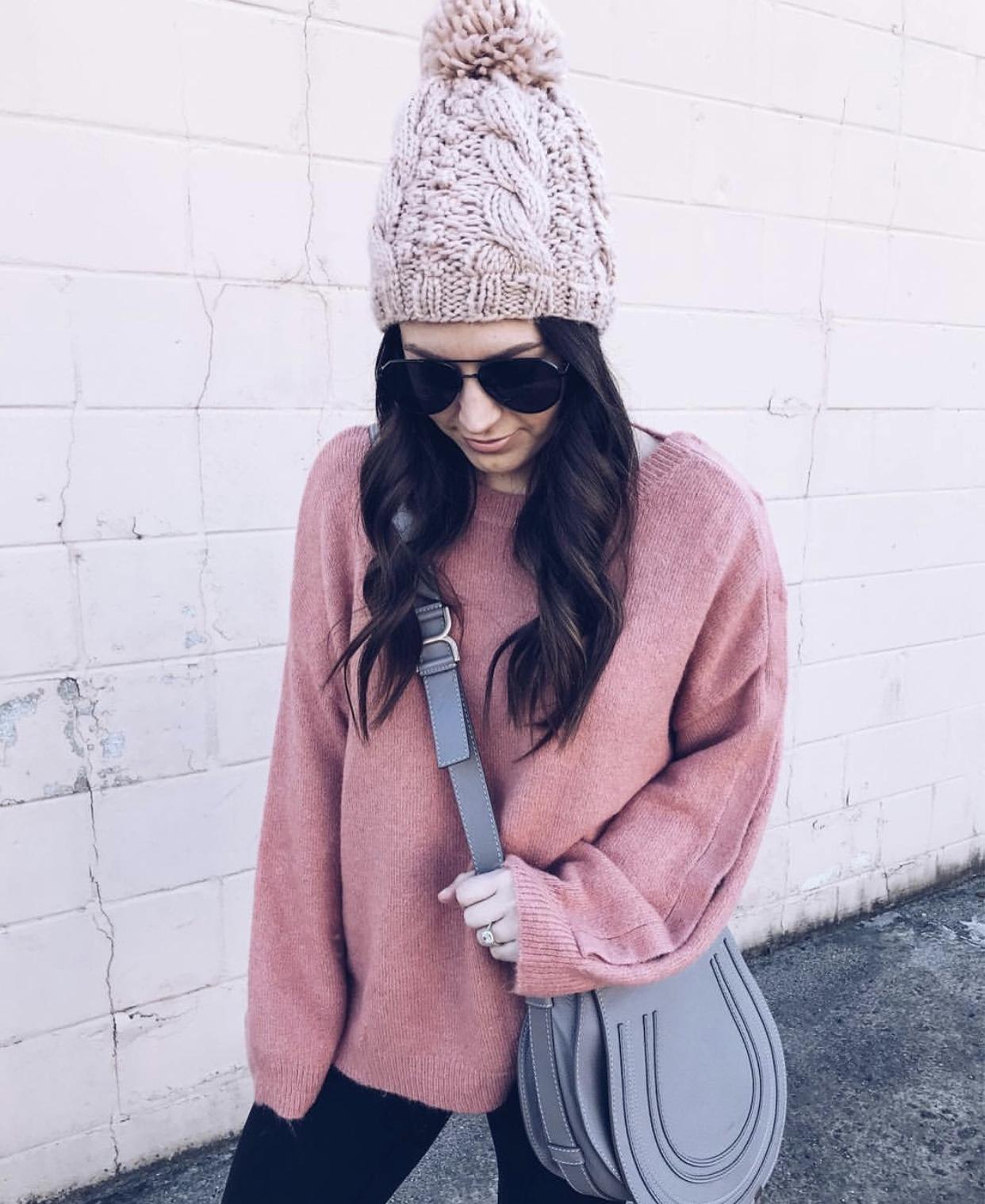 Chloé Marcie Medium Leather Crossbody Bag Review | Pine Barren Beauty | designer handbag review, must have designer bag, Chloé bag