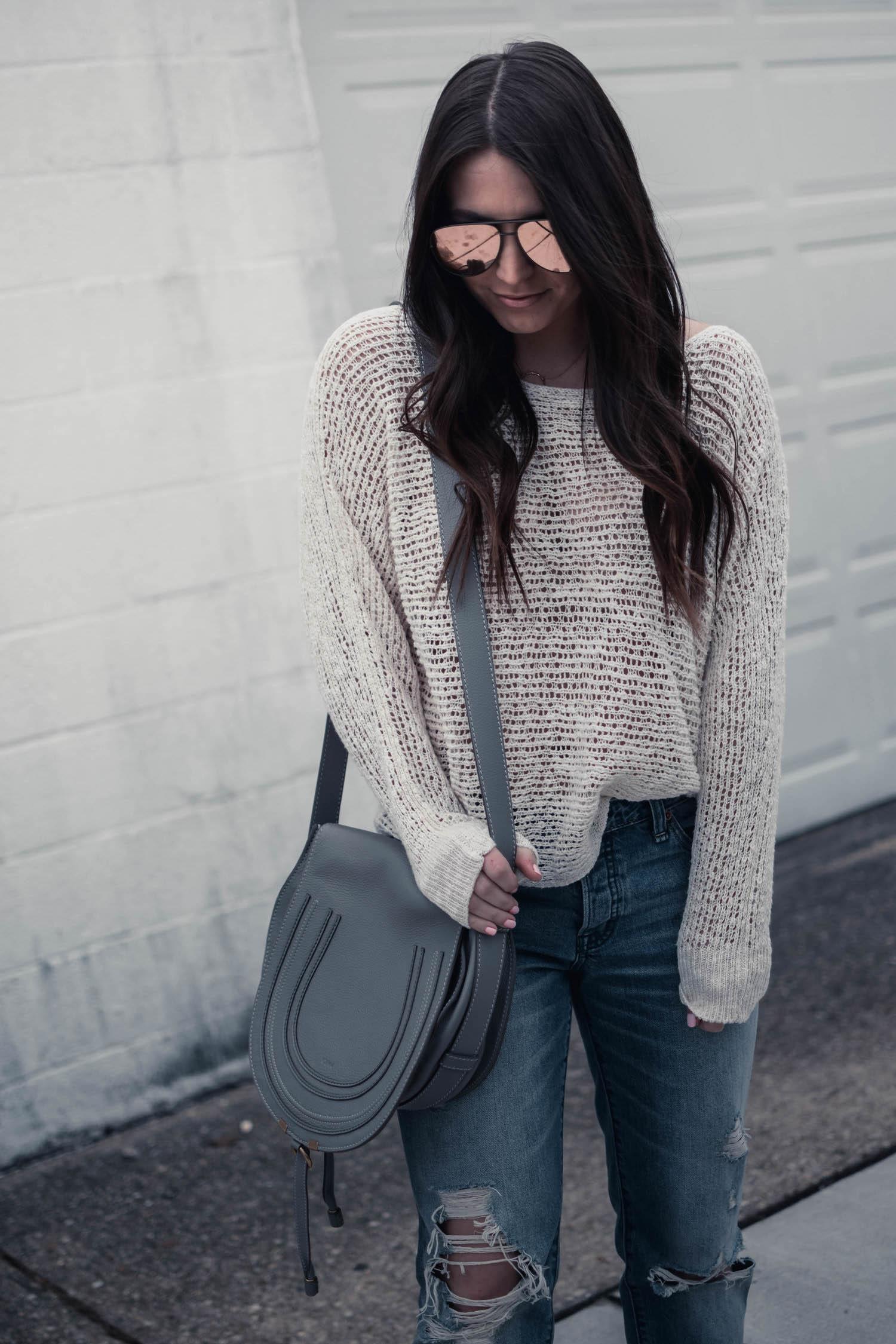 Chloé Marcie Medium Leather Crossbody Bag Review Pine
