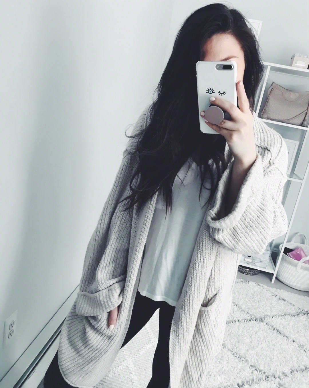 Instagram Round Up + Current Sales | Pine Barren Beauty | outfit of the day, outfit details, spring outfit, cozy cardigan, basic tee